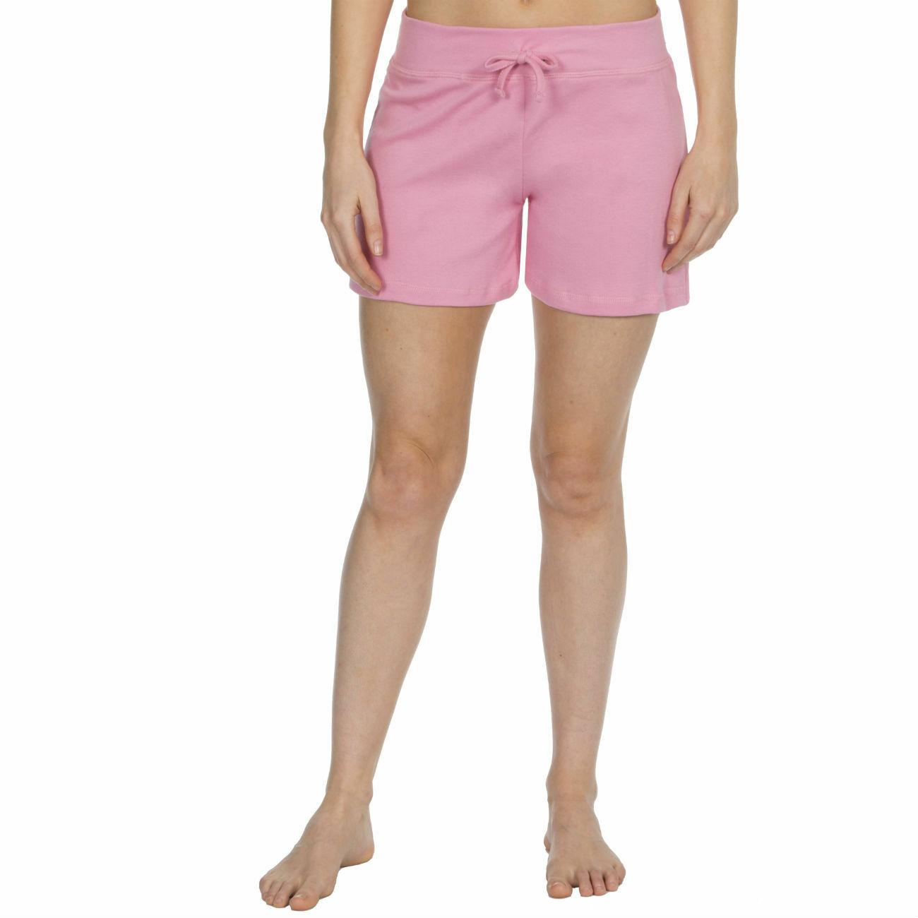 Womens-Cotton-Jersey-Shorts-Elastic-Waist-Summer-Beach-Casual-Yoga-Hot-Pants-New thumbnail 16