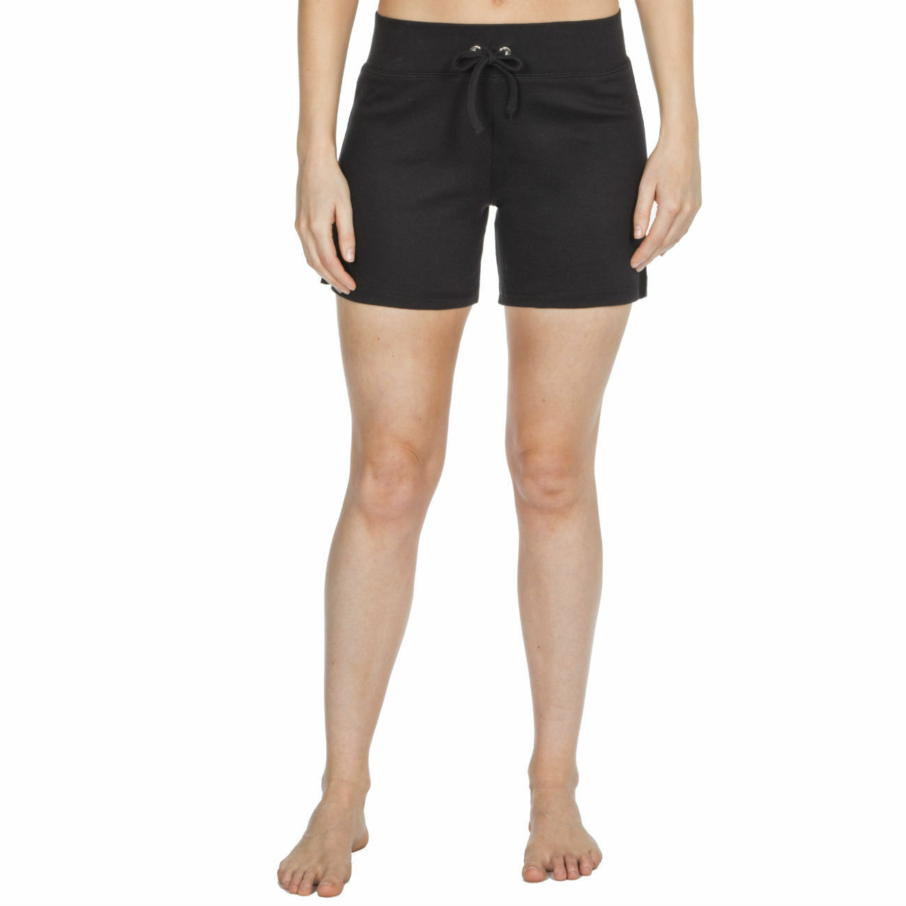 Womens-Cotton-Jersey-Shorts-Elastic-Waist-Summer-Beach-Casual-Yoga-Hot-Pants-New thumbnail 3