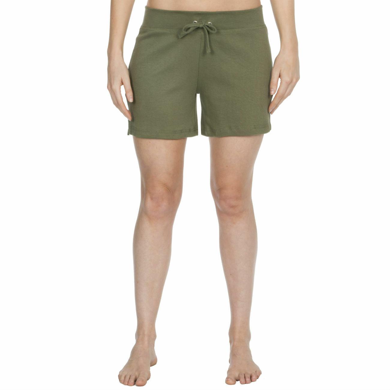 Womens-Cotton-Jersey-Shorts-Elastic-Waist-Summer-Beach-Casual-Yoga-Hot-Pants-New thumbnail 20