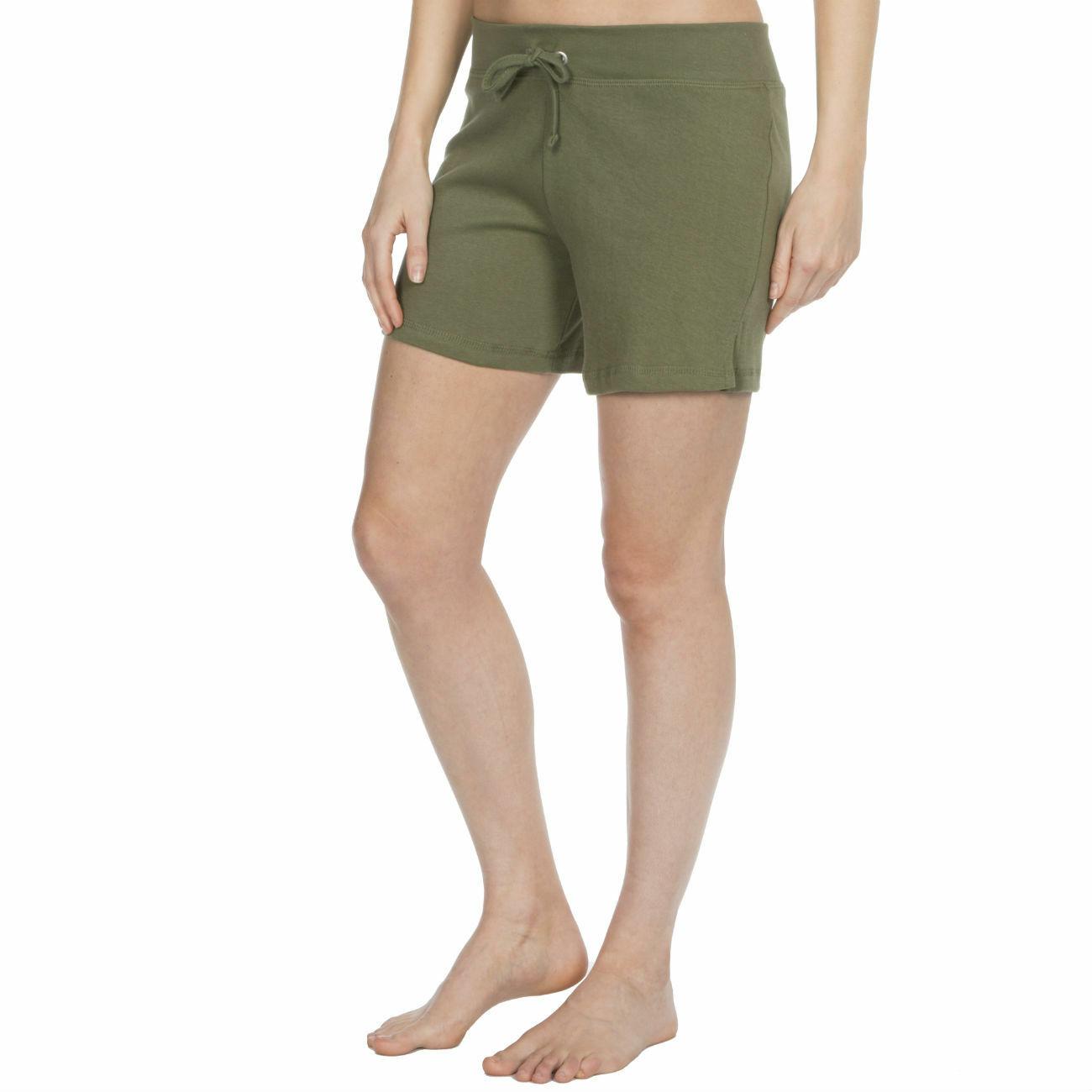 Womens-Cotton-Jersey-Shorts-Elastic-Waist-Summer-Beach-Casual-Yoga-Hot-Pants-New thumbnail 21
