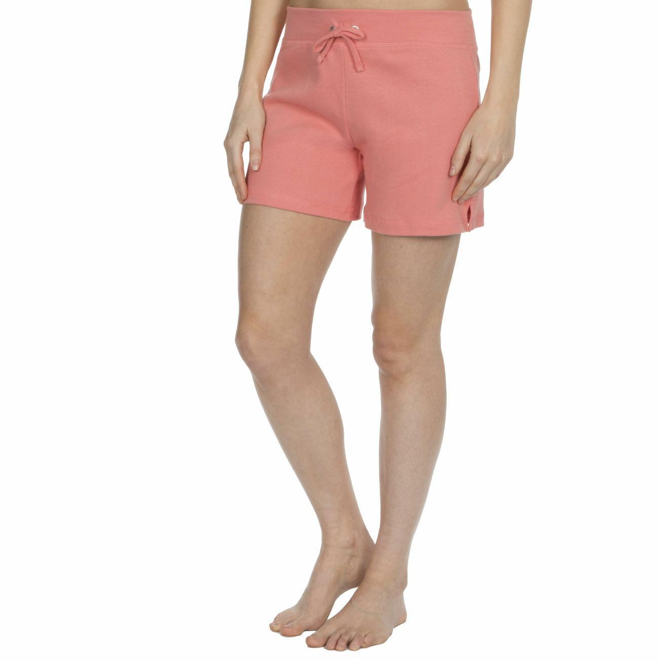 Womens-Cotton-Jersey-Shorts-Elastic-Waist-Summer-Beach-Casual-Yoga-Hot-Pants-New thumbnail 36