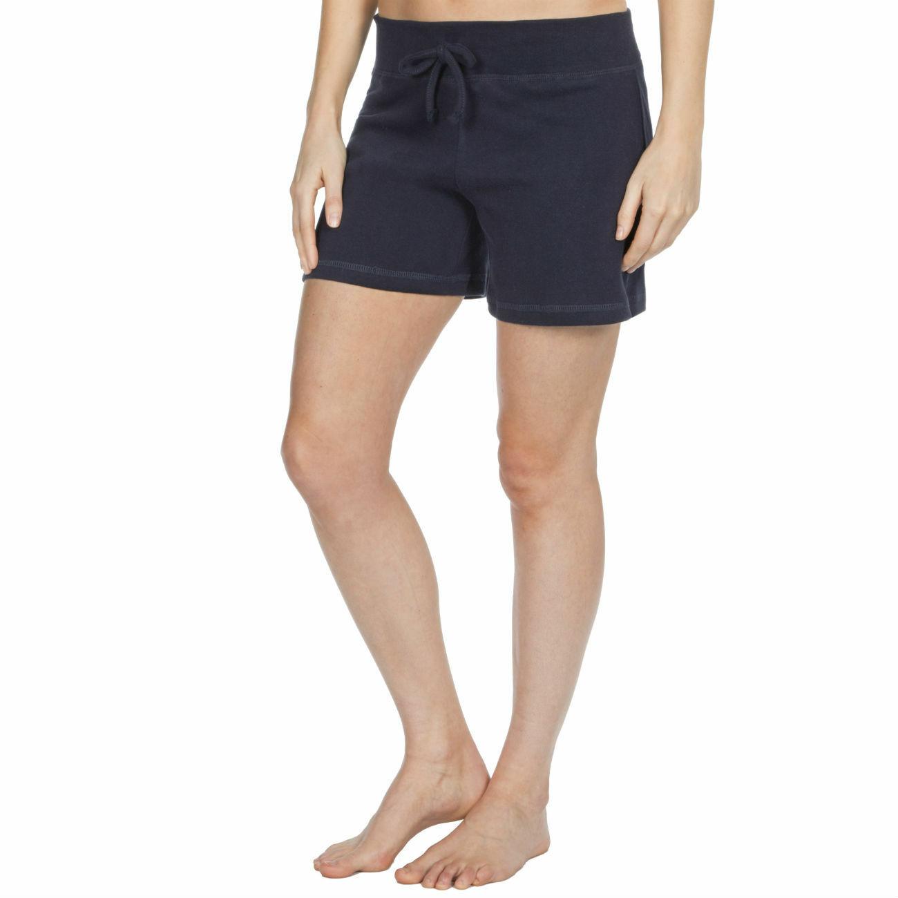 Womens-Cotton-Jersey-Shorts-Elastic-Waist-Summer-Beach-Casual-Yoga-Hot-Pants-New thumbnail 11