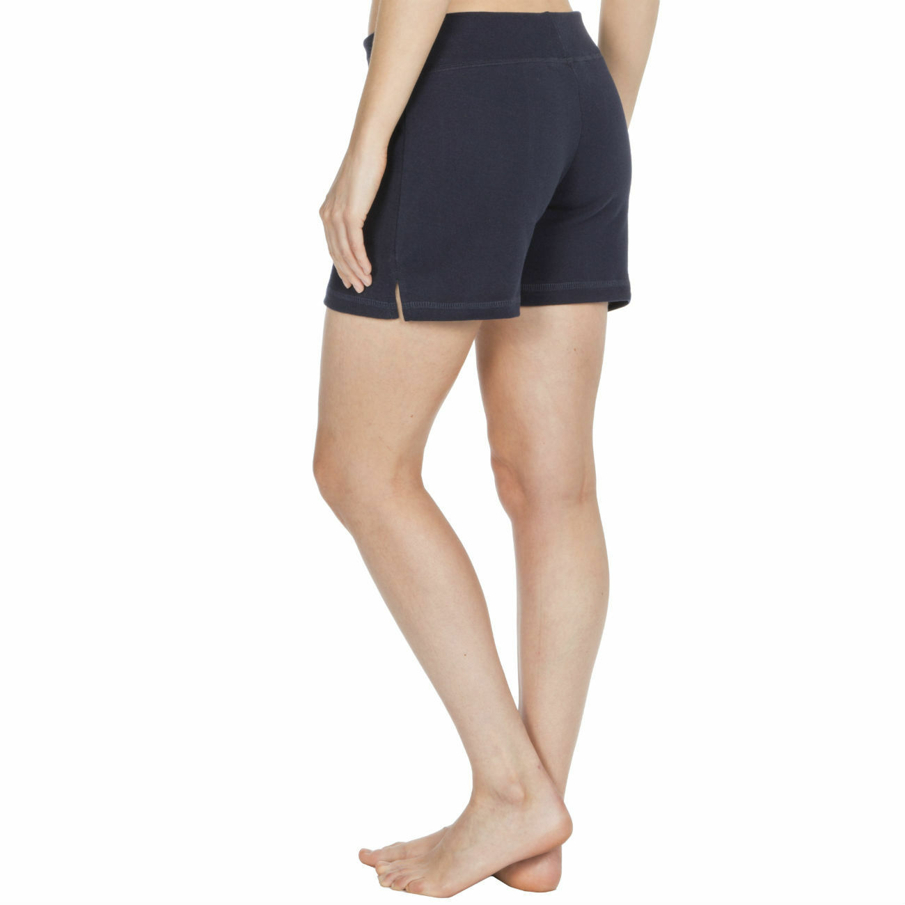 Womens-Cotton-Jersey-Shorts-Elastic-Waist-Summer-Beach-Casual-Yoga-Hot-Pants-New thumbnail 13