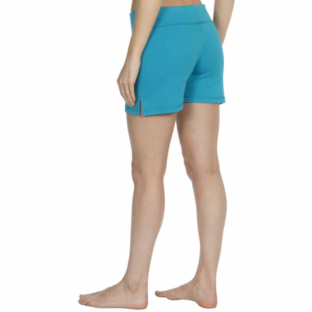 Womens-Cotton-Jersey-Shorts-Elastic-Waist-Summer-Beach-Casual-Yoga-Hot-Pants-New thumbnail 26