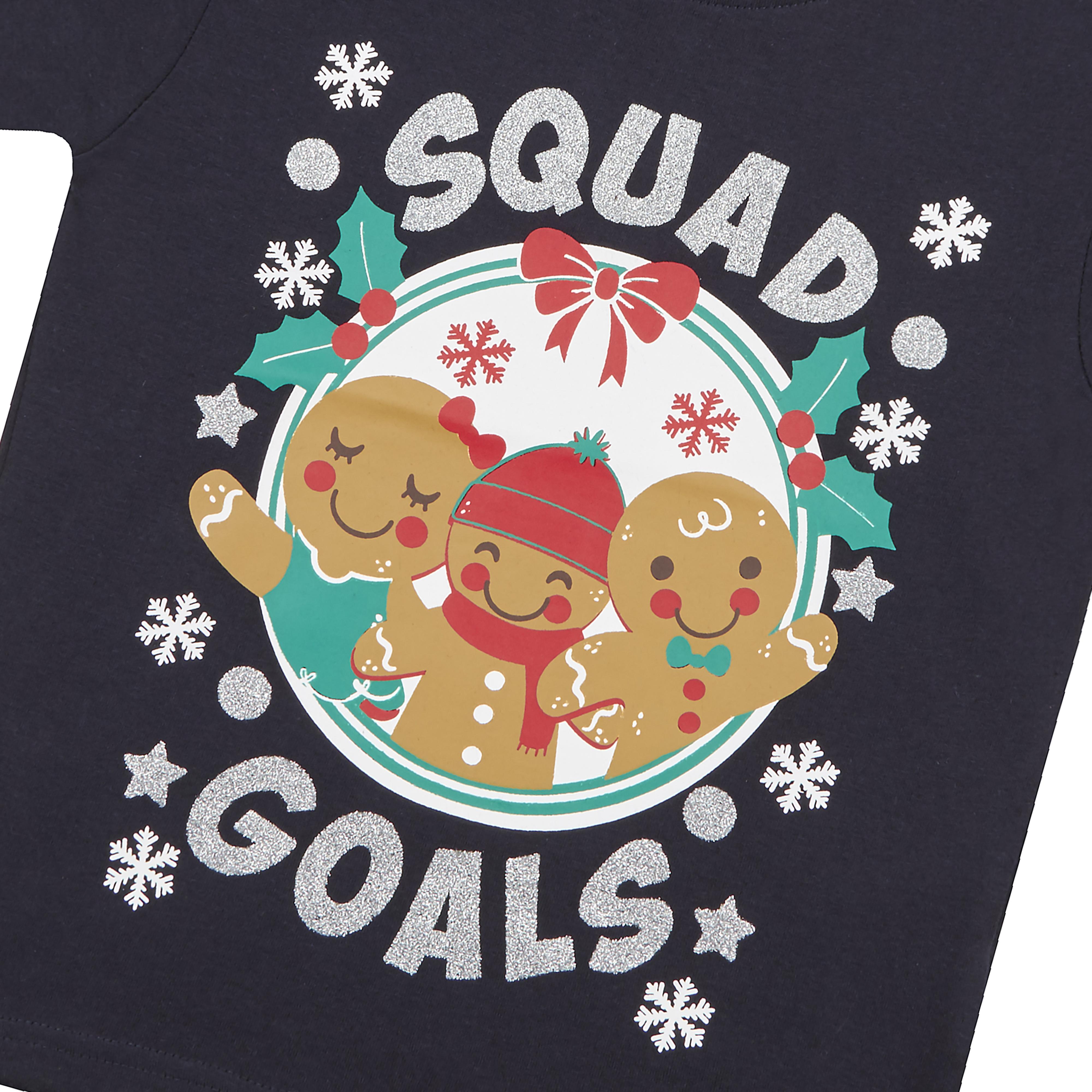 Childrens-Girls-Boys-Xmas-T-Shirts-Printed-Christmas-Design-100-Cotton-2-13-Yrs thumbnail 37