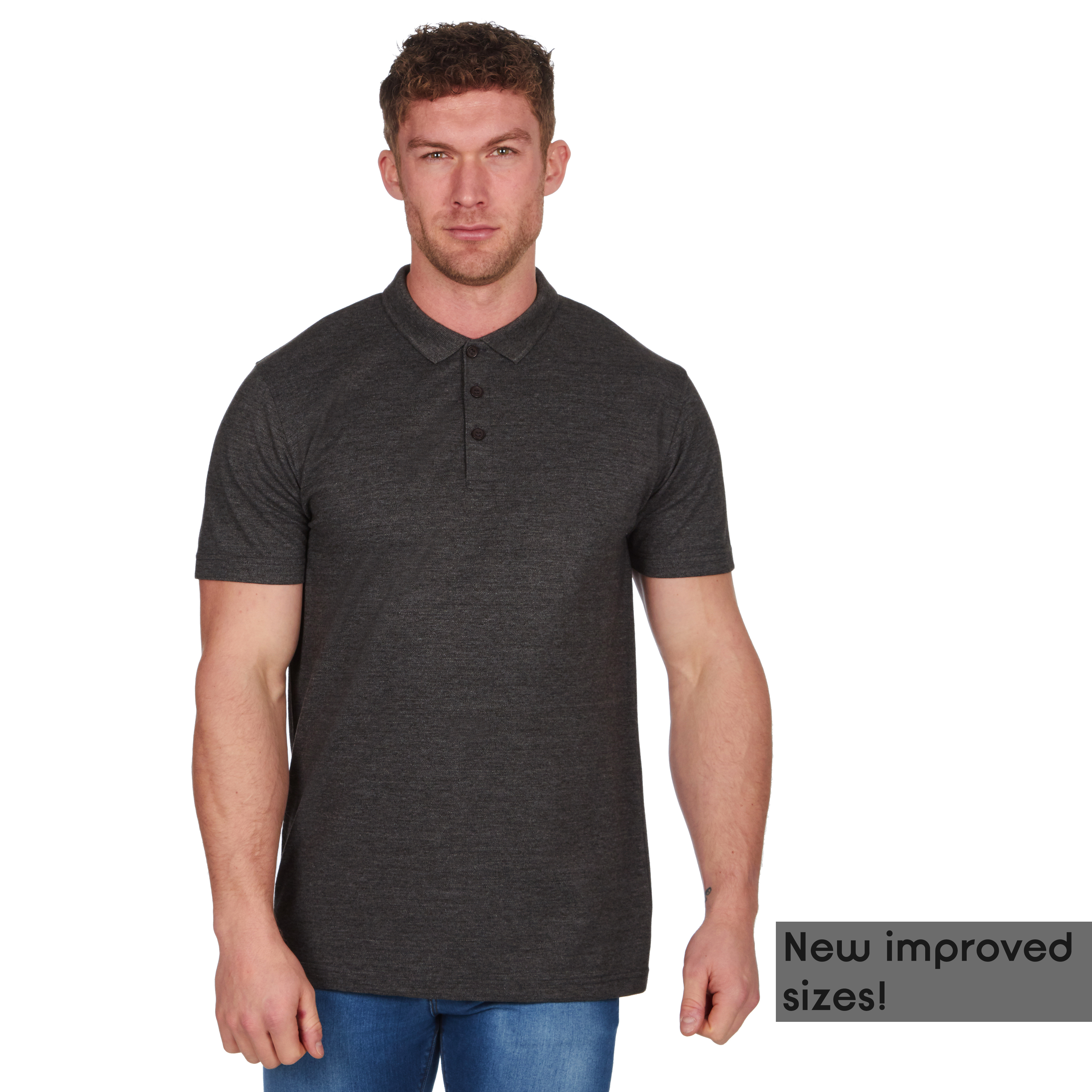 Mens-Classic-Polo-Top-Plus-Size-T-Shirt-Plain-Shirt-Big-And-Tall-Short-Sleeve thumbnail 19