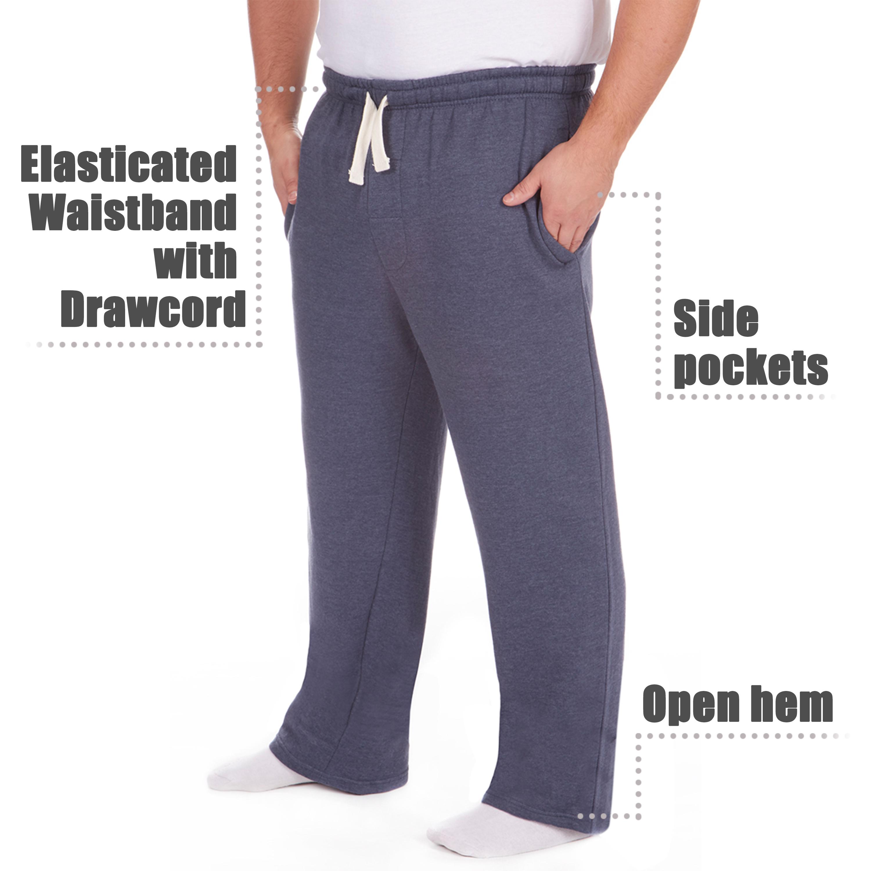 Men-039-s-Plus-Size-Jogging-Bottoms-Sudare-Pantaloni-Da-Jogging-Pantaloni-Orlo-a-manichetta-taglia miniatura 16