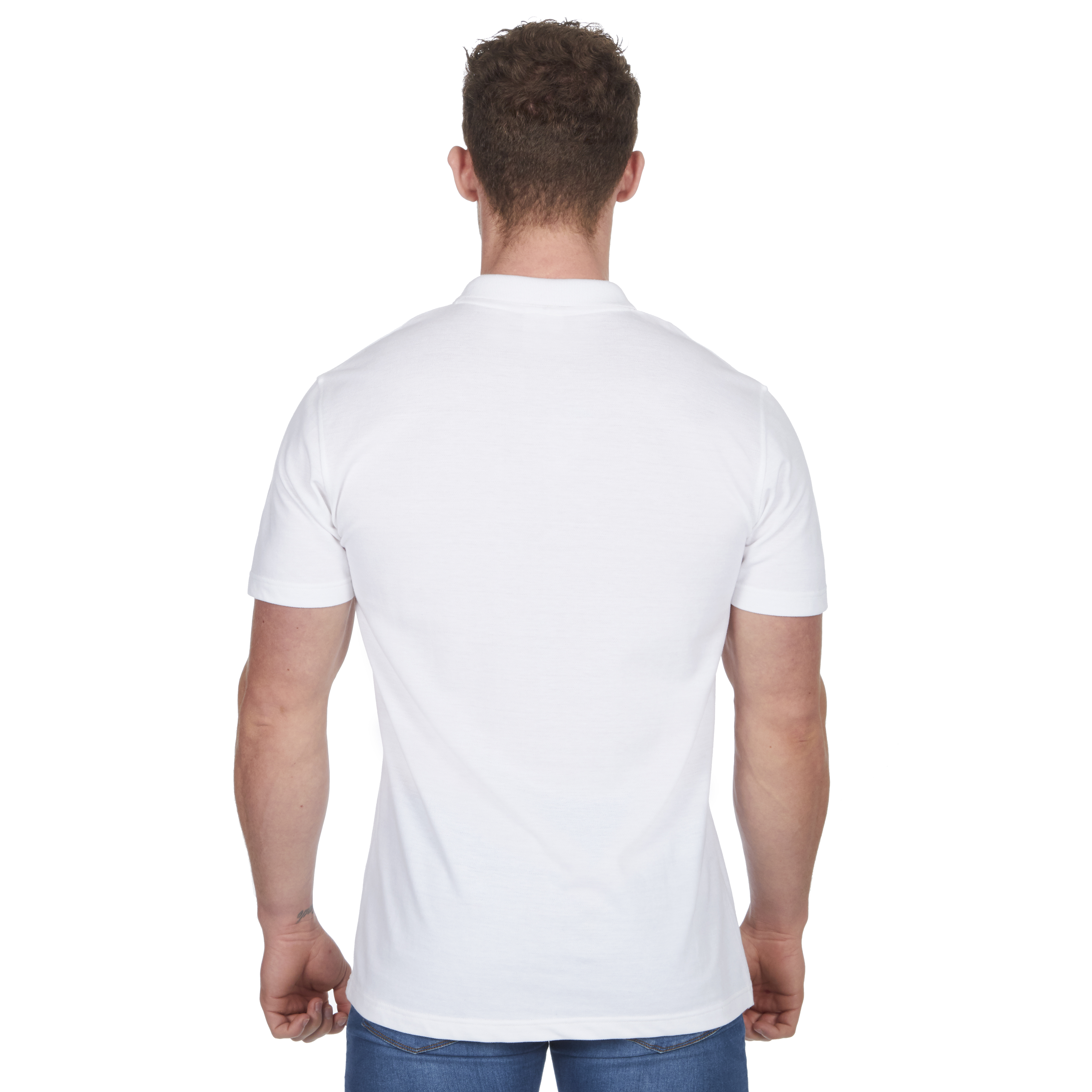 Mens-Classic-Polo-Top-Plus-Size-T-Shirt-Plain-Shirt-Big-And-Tall-Short-Sleeve thumbnail 35
