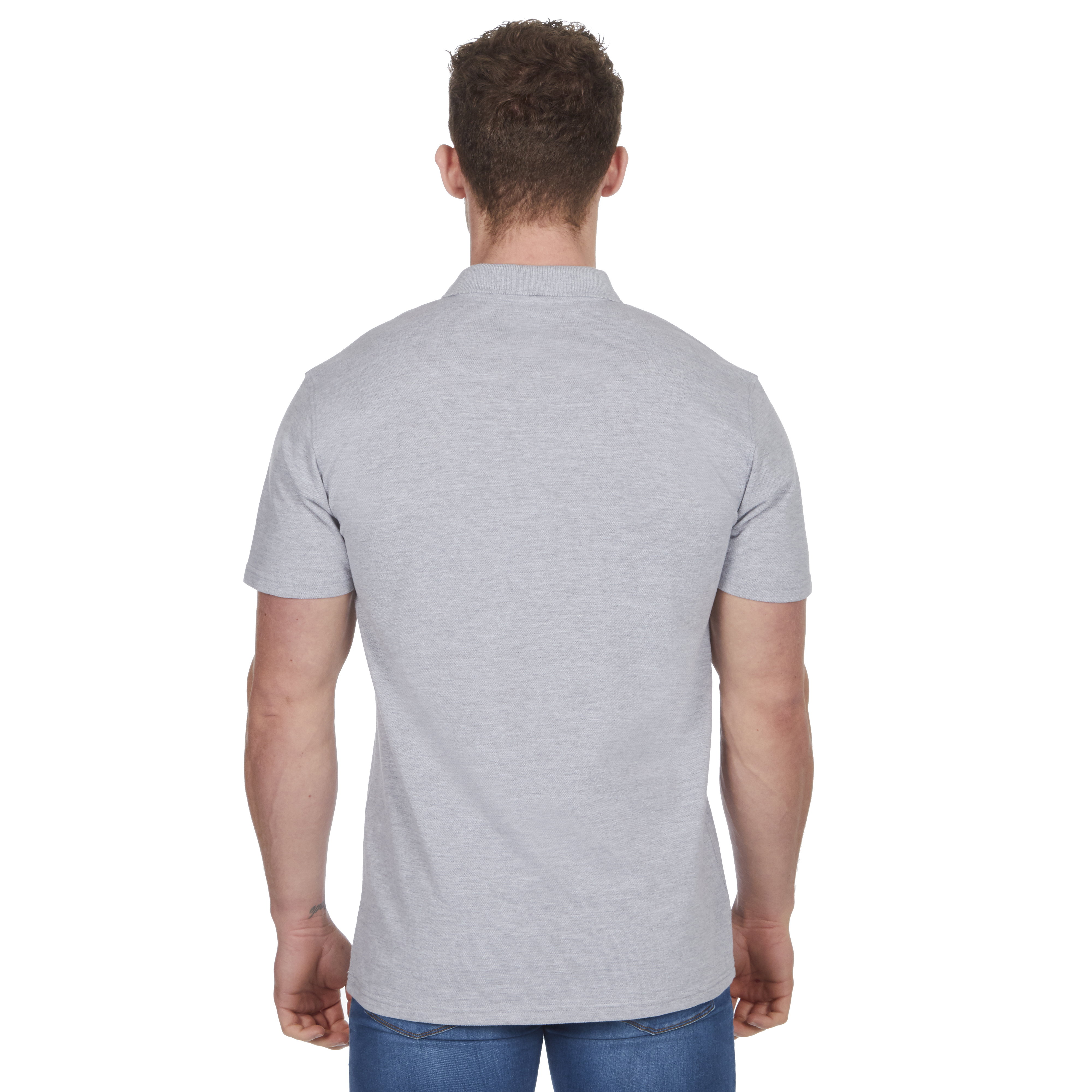 Mens-Classic-Polo-Top-Plus-Size-T-Shirt-Plain-Shirt-Big-And-Tall-Short-Sleeve thumbnail 9