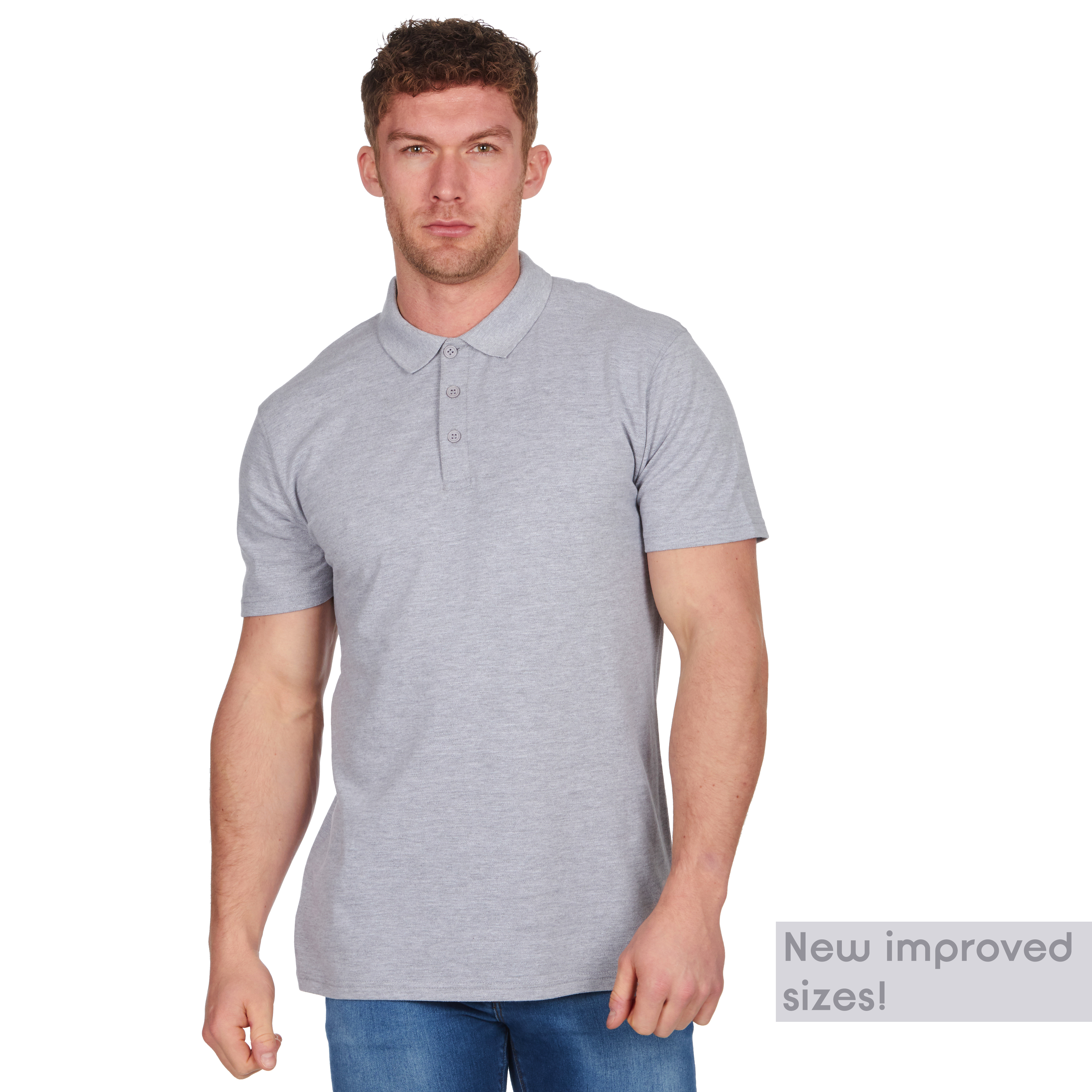 Mens-Classic-Polo-Top-Plus-Size-T-Shirt-Plain-Shirt-Big-And-Tall-Short-Sleeve thumbnail 8