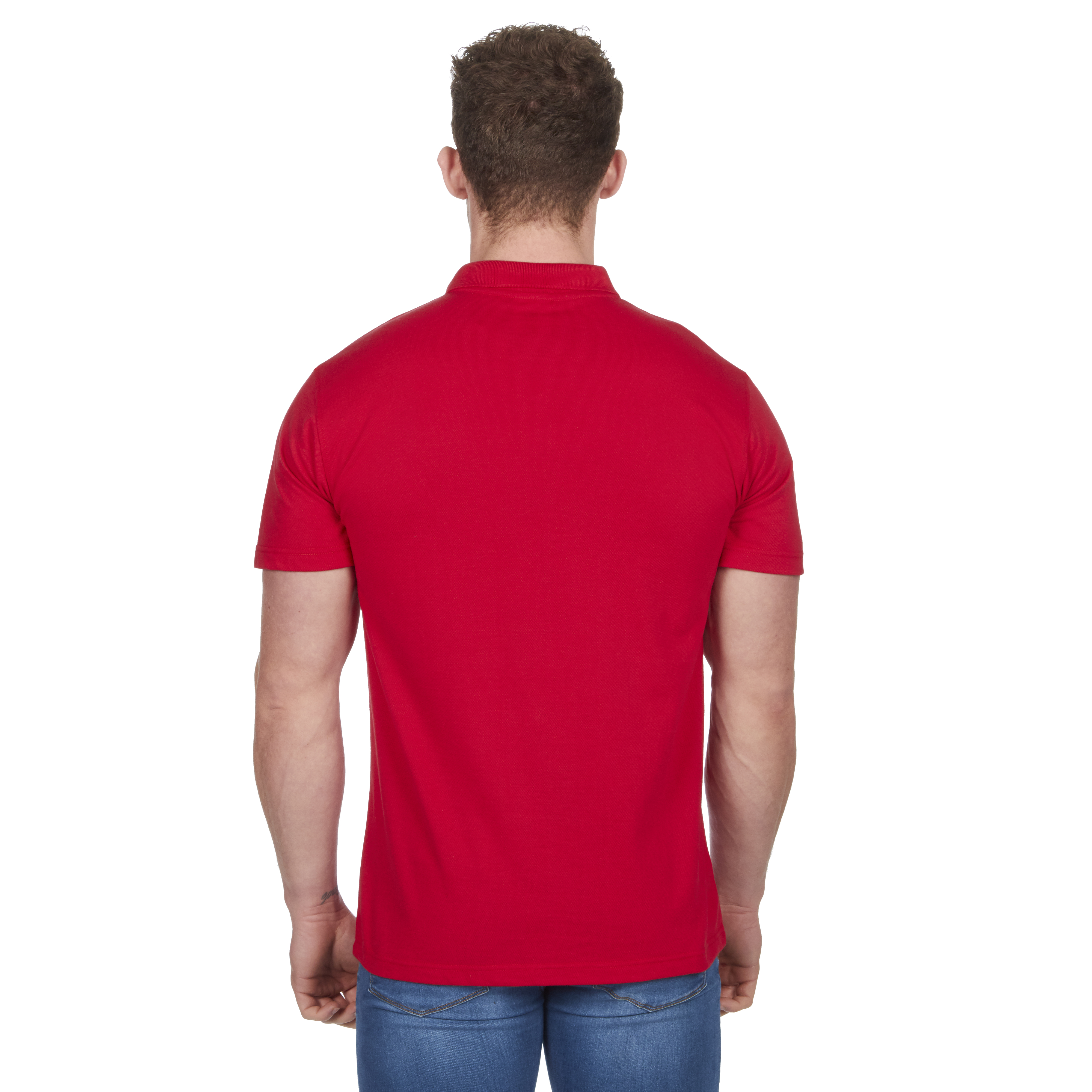 Mens-Classic-Polo-Top-Plus-Size-T-Shirt-Plain-Shirt-Big-And-Tall-Short-Sleeve thumbnail 30