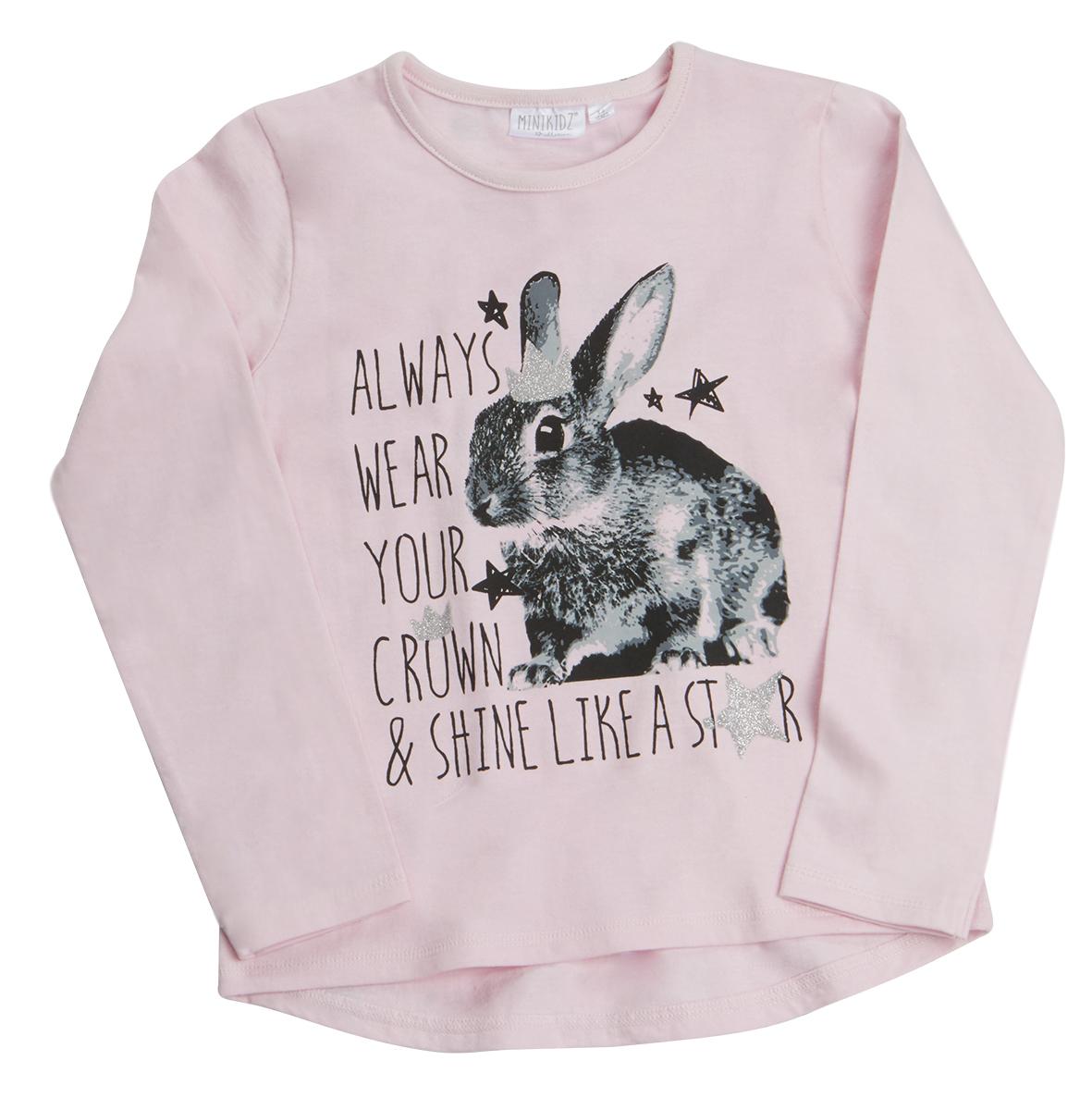 MINIKIDZ Infant Girls Butterfly Polo Shirt T-Shirt Top Short Sleeve 2-6 Years