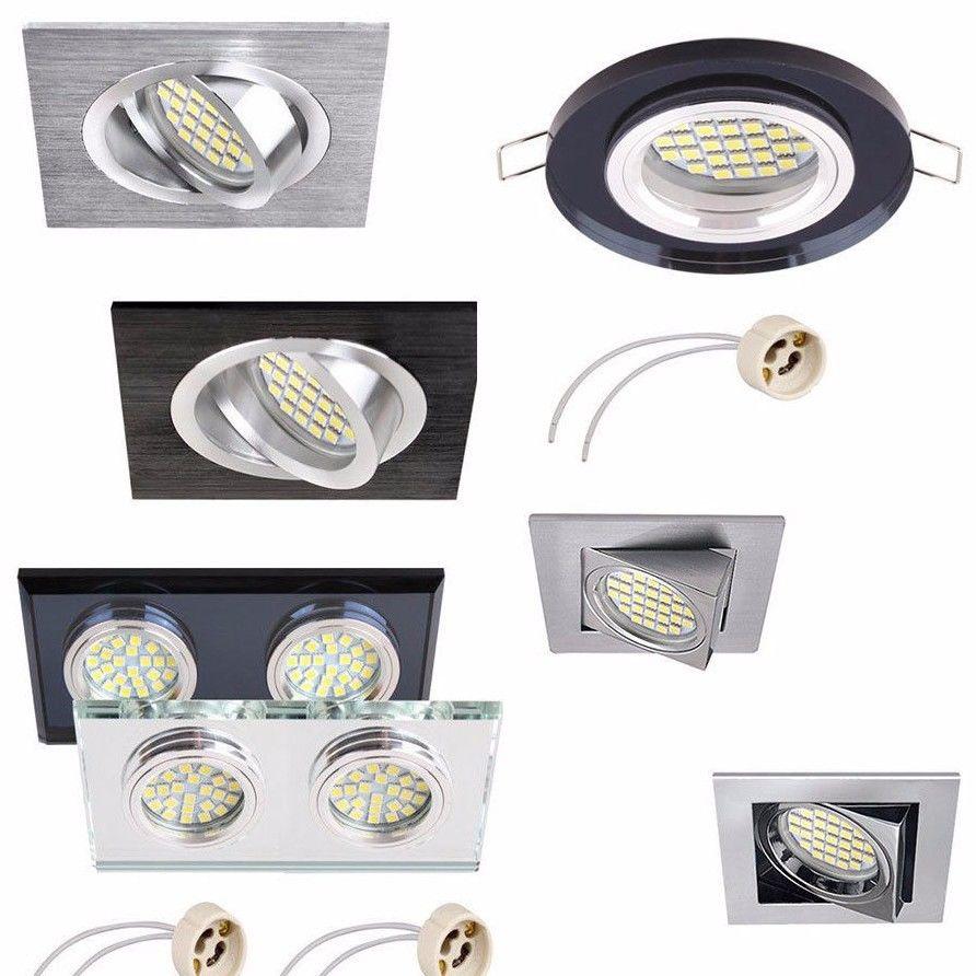 Bathroom Spot Light Wiring Diagram : Mains v fixed fitting tilt recessed downlight ceiling