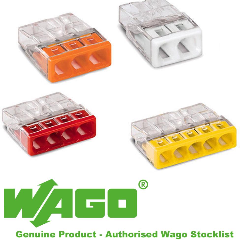Wago Series 2273-202 2273-203 2273-204 2273-205 2273-208 Authorised Stockist UK