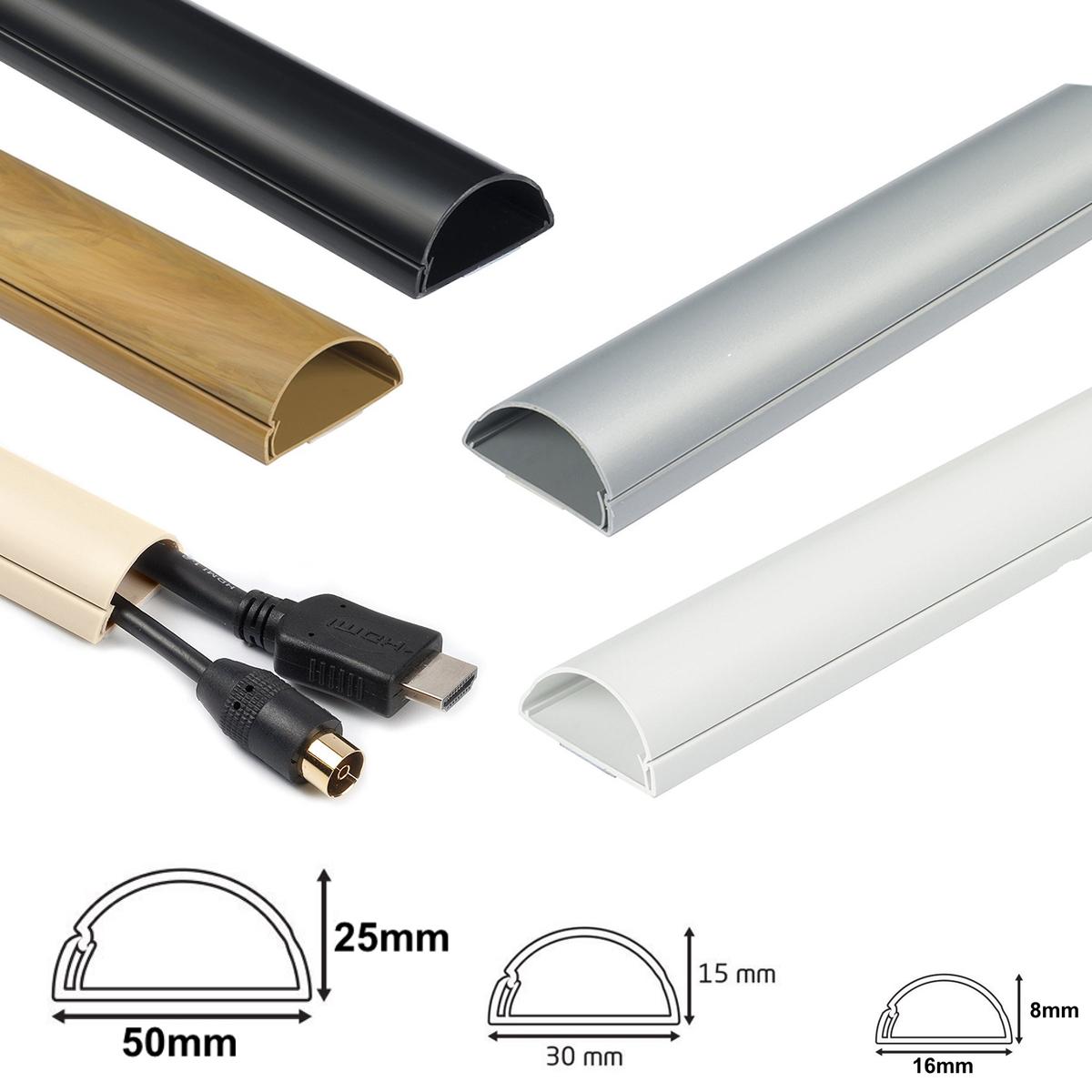 D-Line Mini Cable trunkingdécoratif auto-adhésif Cable Coverélectrique