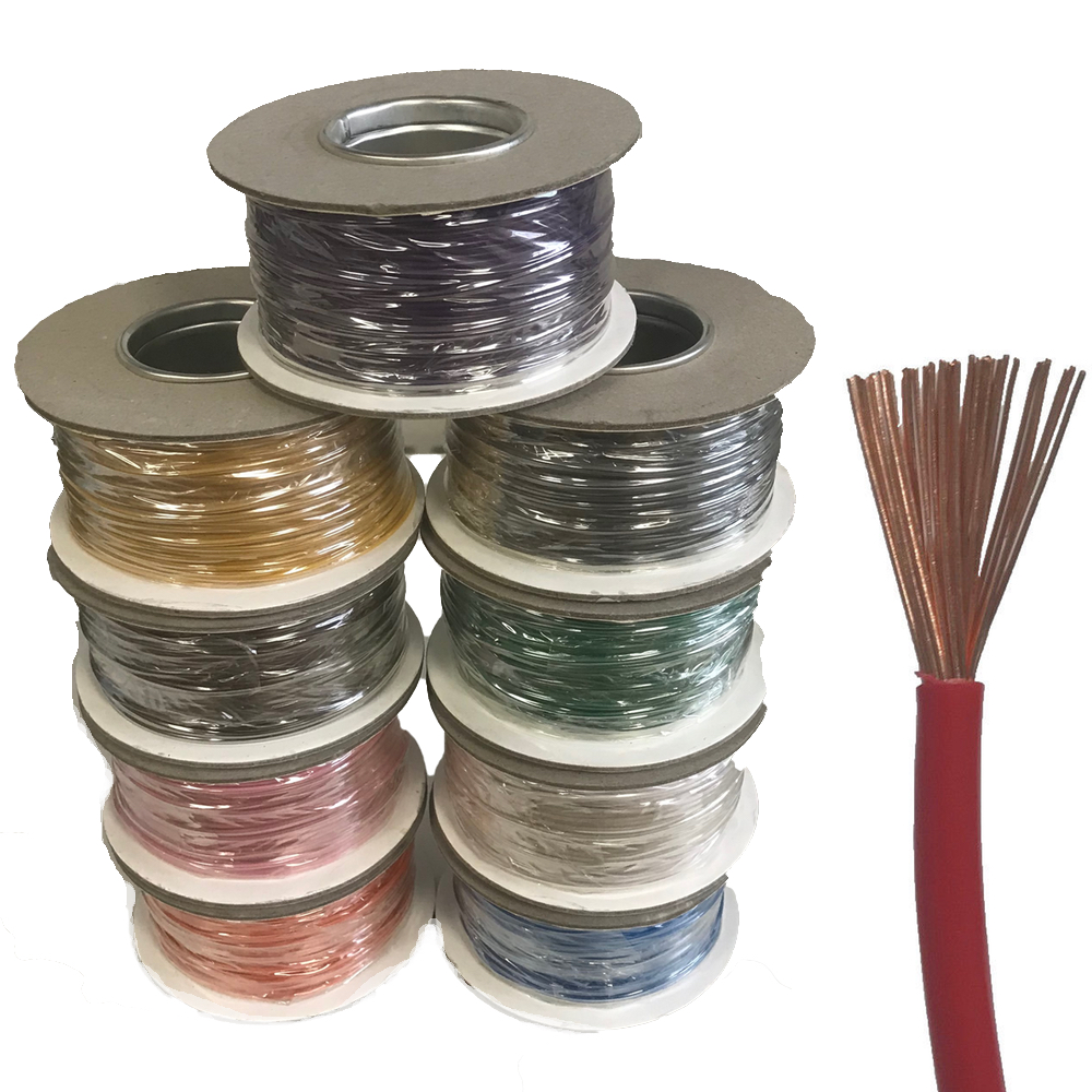 5 METERS GREEN COLOUR AUTOMOTIVE ELECTRICAL SINGLE CORE CABLE WIRE FOR CAR VAN
