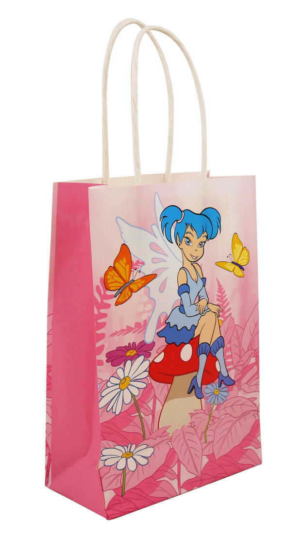 6 Fairy Bags With Handles Luxury Party Treat Sweet Loot