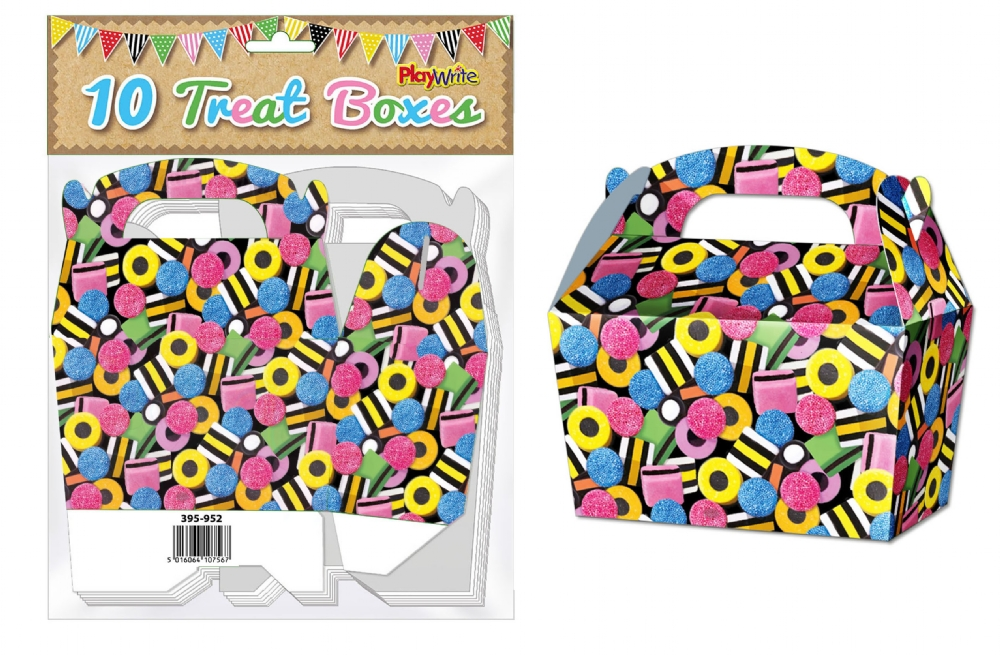 10-Party-Bag-Treat-Boxes-Choose-From-16-Designs-Cupcake-Gift-Themed-Children thumbnail 26