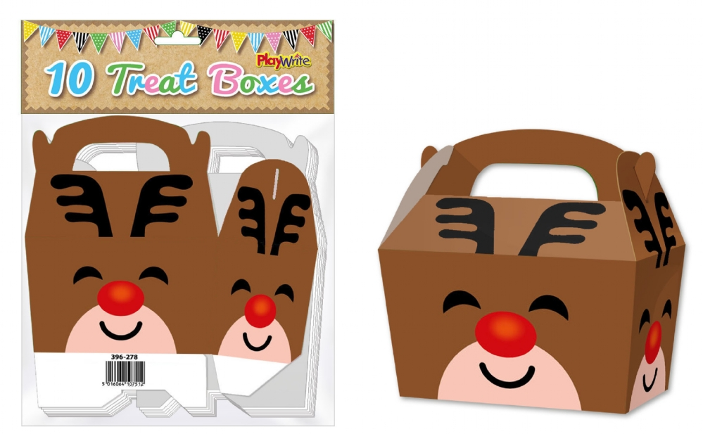10-Party-Bag-Treat-Boxes-Choose-From-16-Designs-Cupcake-Gift-Themed-Children thumbnail 13