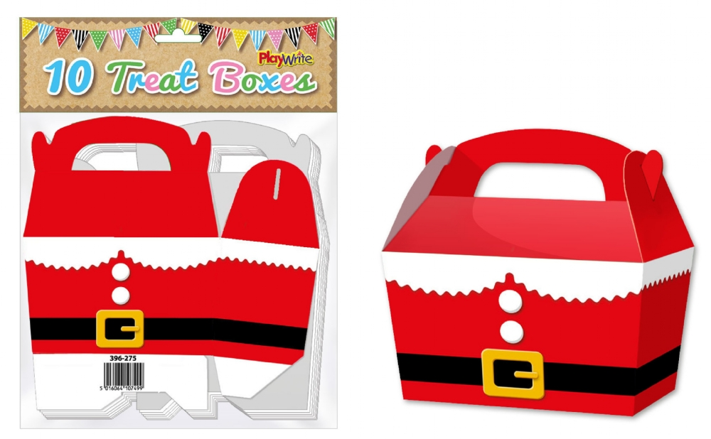 10-Party-Bag-Treat-Boxes-Choose-From-16-Designs-Cupcake-Gift-Themed-Children thumbnail 7