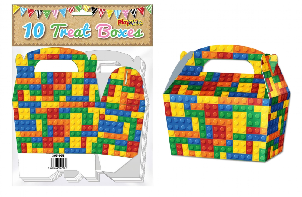 10-Party-Bag-Treat-Boxes-Choose-From-16-Designs-Cupcake-Gift-Themed-Children thumbnail 17