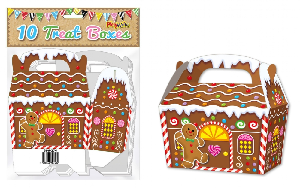10-Party-Bag-Treat-Boxes-Choose-From-16-Designs-Cupcake-Gift-Themed-Children thumbnail 11