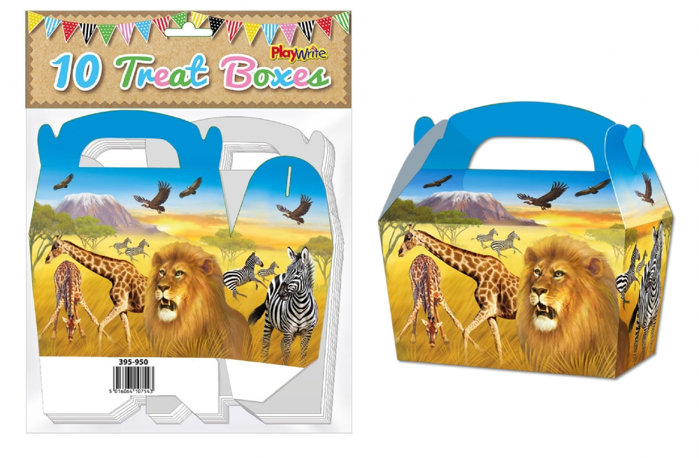 10-Party-Bag-Treat-Boxes-Choose-From-16-Designs-Cupcake-Gift-Themed-Children thumbnail 23
