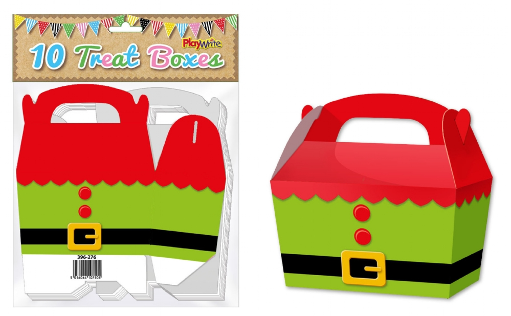 10-Party-Bag-Treat-Boxes-Choose-From-16-Designs-Cupcake-Gift-Themed-Children thumbnail 5