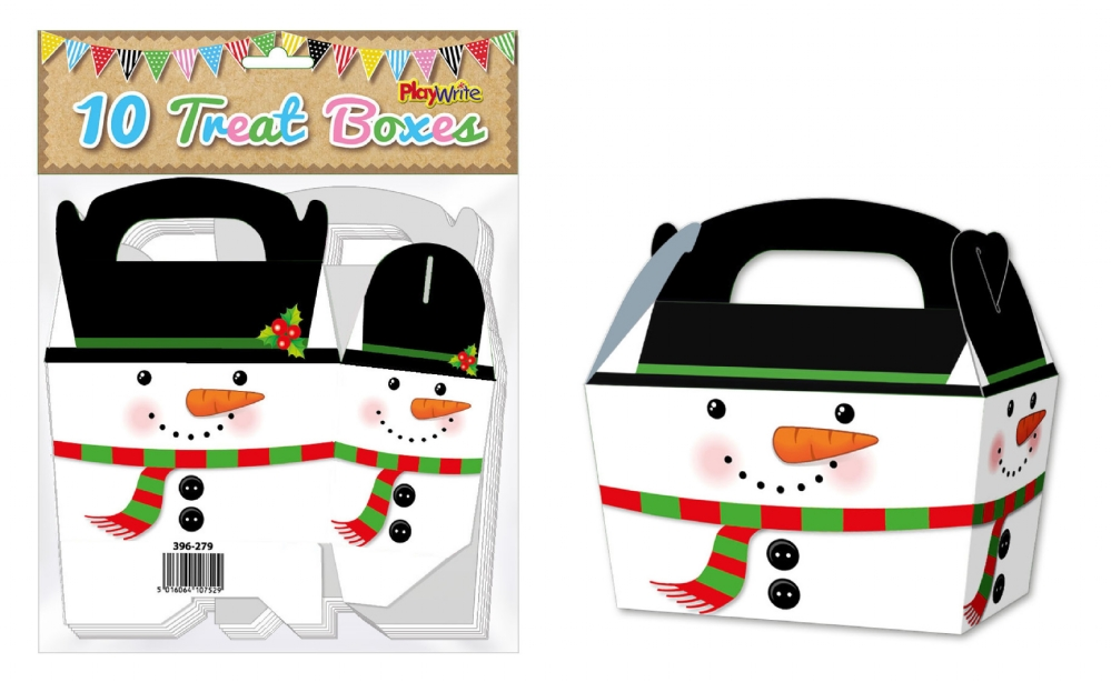 10-Party-Bag-Treat-Boxes-Choose-From-16-Designs-Cupcake-Gift-Themed-Children thumbnail 3