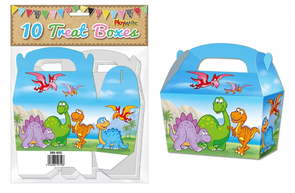 10-Party-Bag-Treat-Boxes-Choose-From-16-Designs-Cupcake-Gift-Themed-Children thumbnail 21