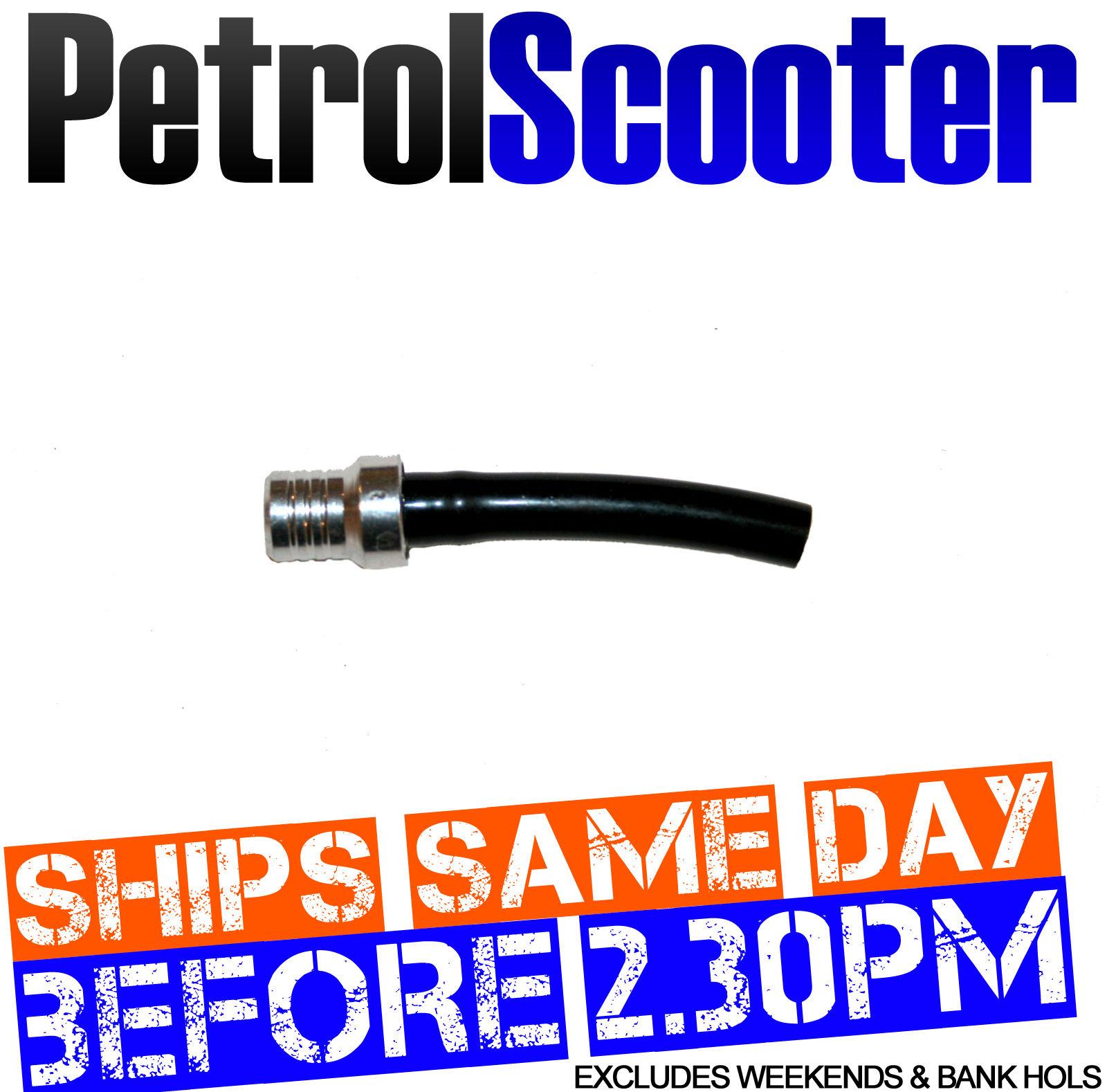 Pitbike Silver CNC Fuel Petrol Tank Breather Pipe Nipple 50cc 110cc 125cc 140cc