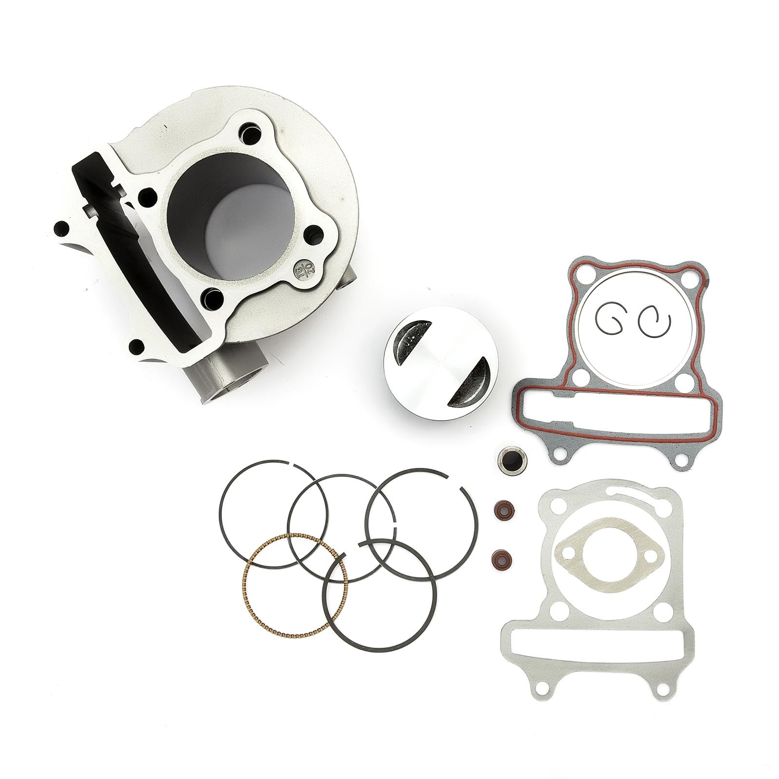 perfk Replacement Horizontal Engine Head Gasket Kit for 125cc SSR SDG Pit Pro Quad Dirt Bike ATV Buggy