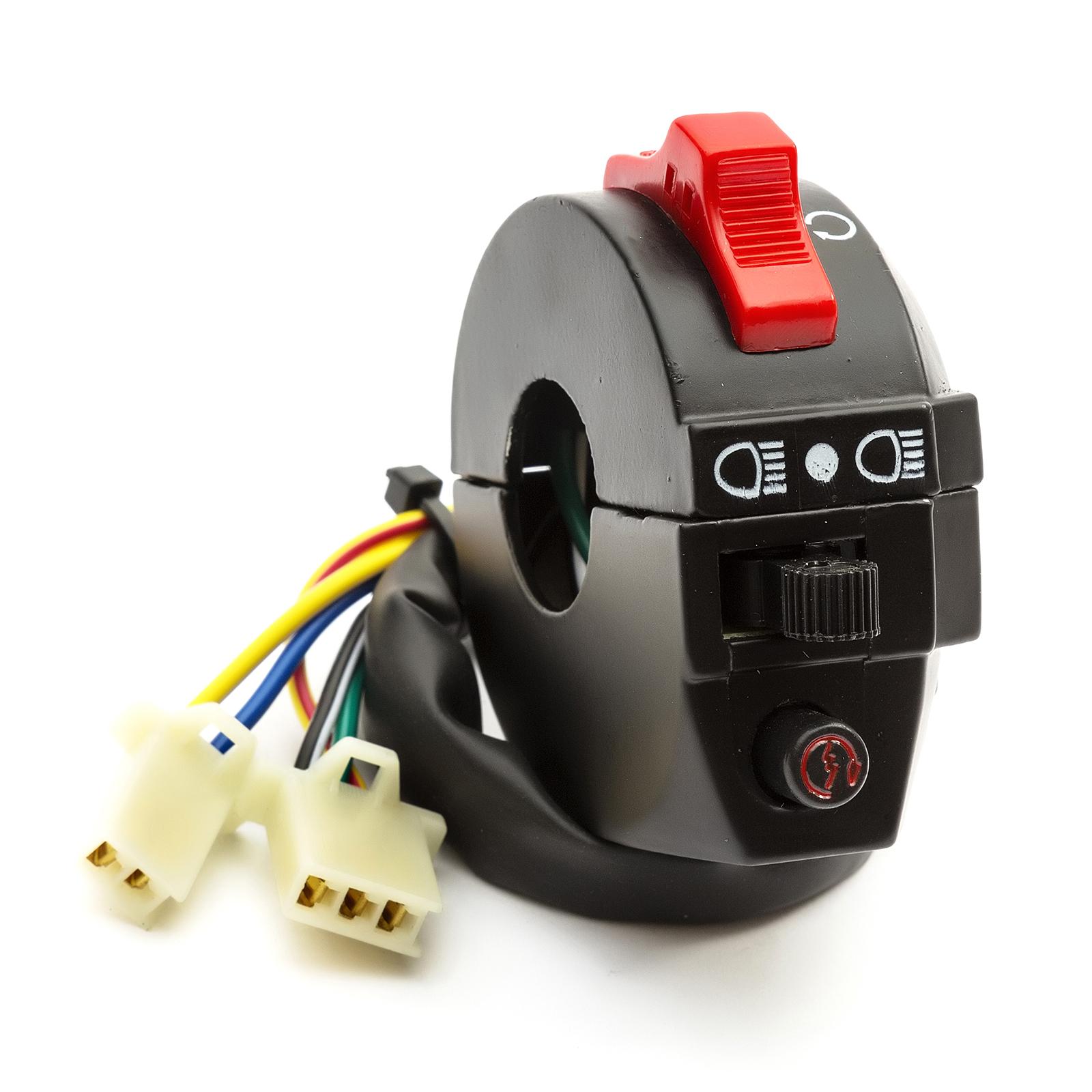 Kazuma Meerkat 50cc Atv Quad Handlebar Switch Fits Redcat Shark Genuine Parts 5055583002311