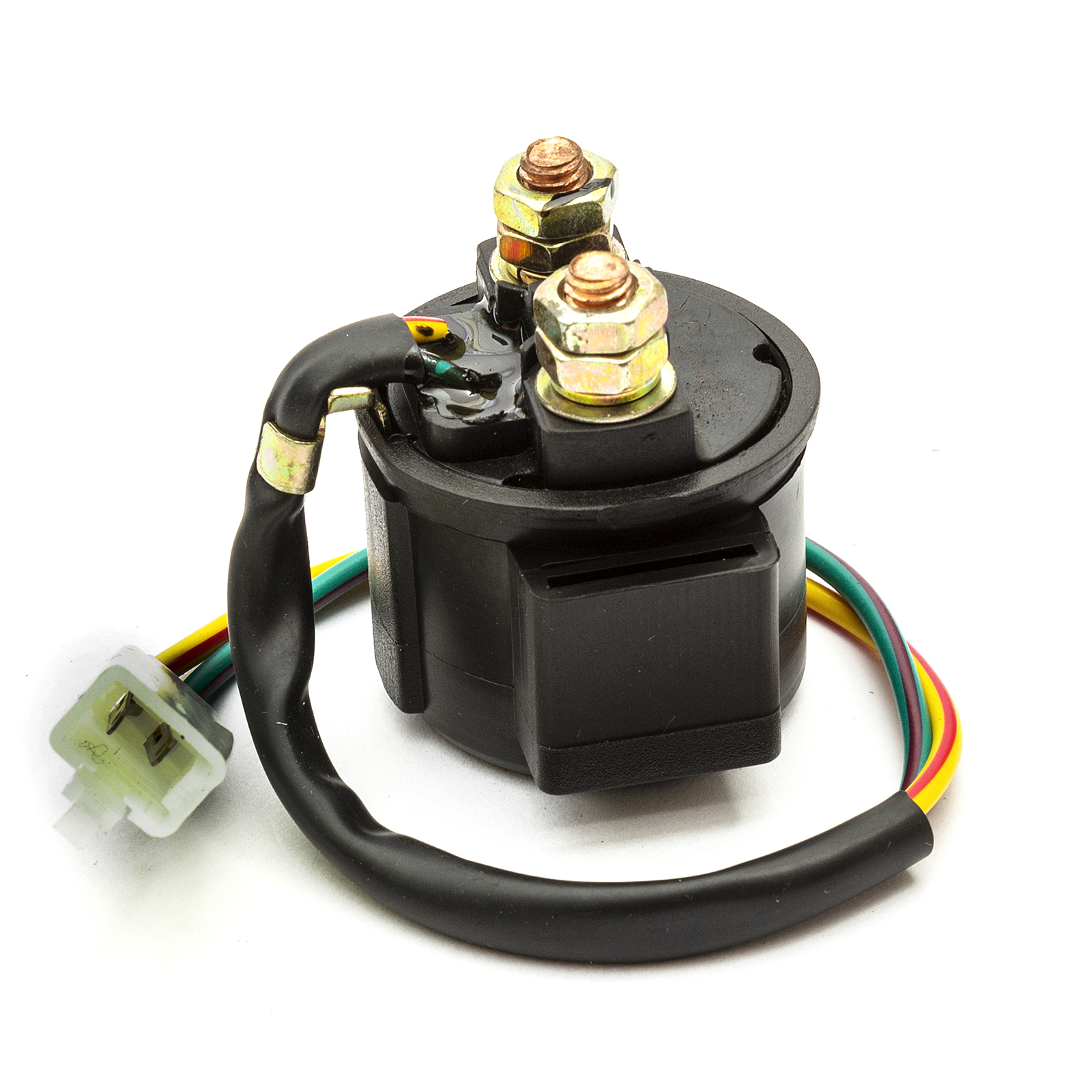 12v Starter Solenoid Relay For Atv Go Kart Pit Dirt Bike Quad 90cc 110cc 125cc Quality And Quantity Assured Atv Parts & Accessories Atv,rv,boat & Other Vehicle