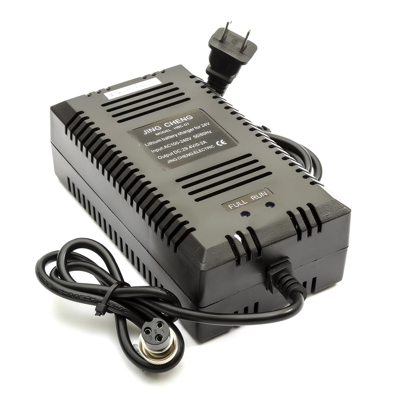 24v UE Caricabatteria scooter elettrico RAZOR E90 E100 E125 E150 E200 E300 E500