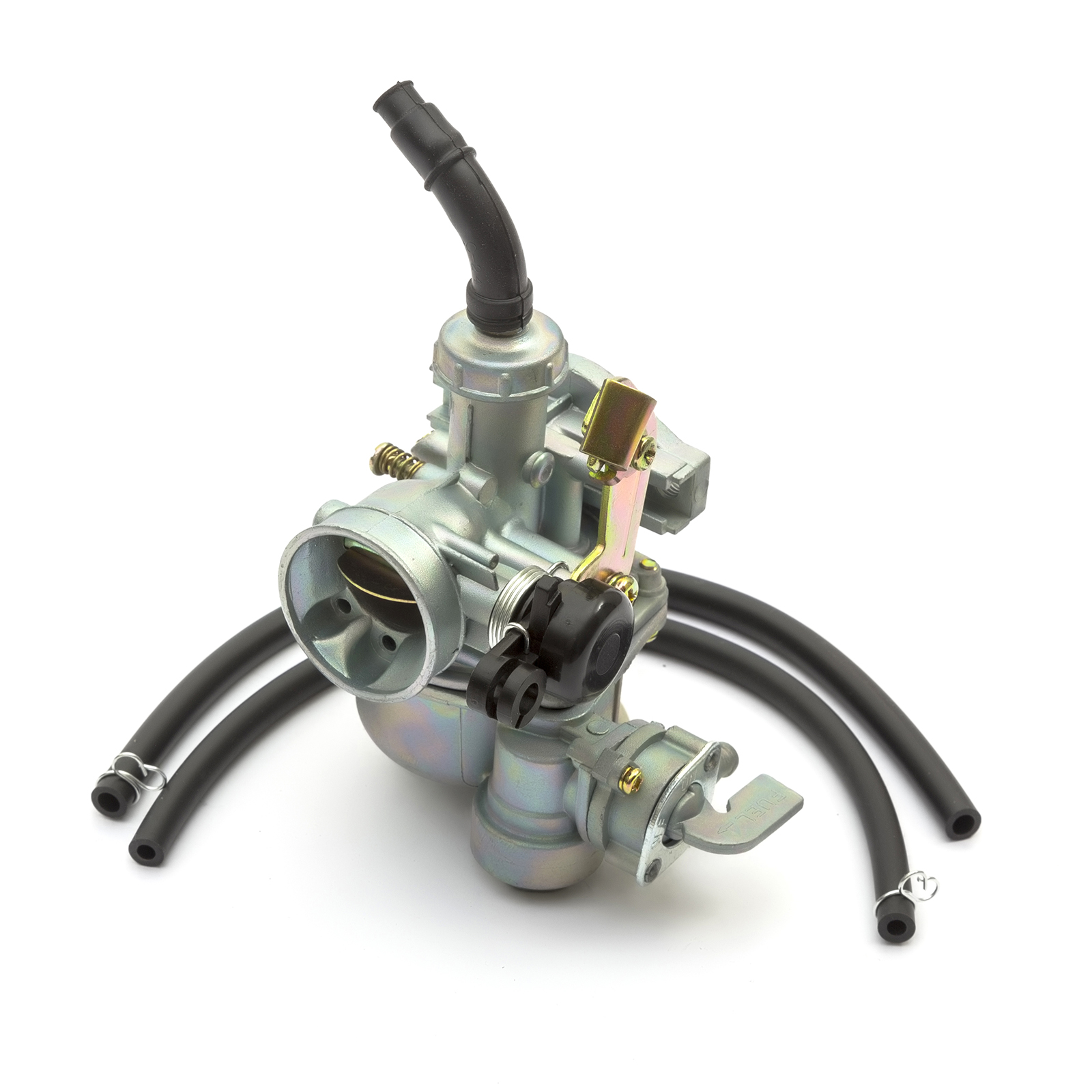 Silver 35mm Air Filter 125cc 110cc 90cc Dirt Pit Bikes Carburettor 15mm