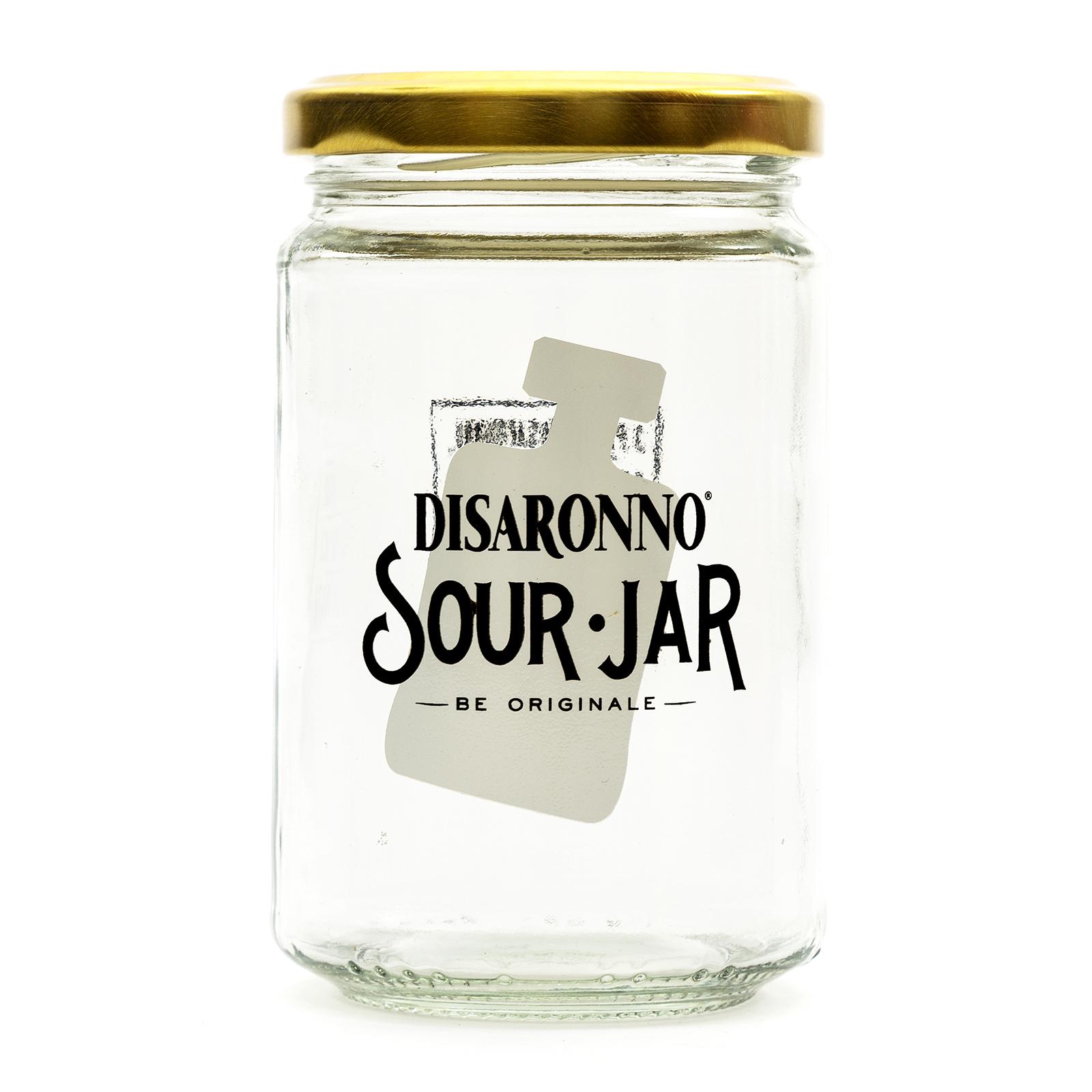 Details about Genuine Limited Edition Disaronno Sour Cocktail Jar +  Presentation Box Home Bar