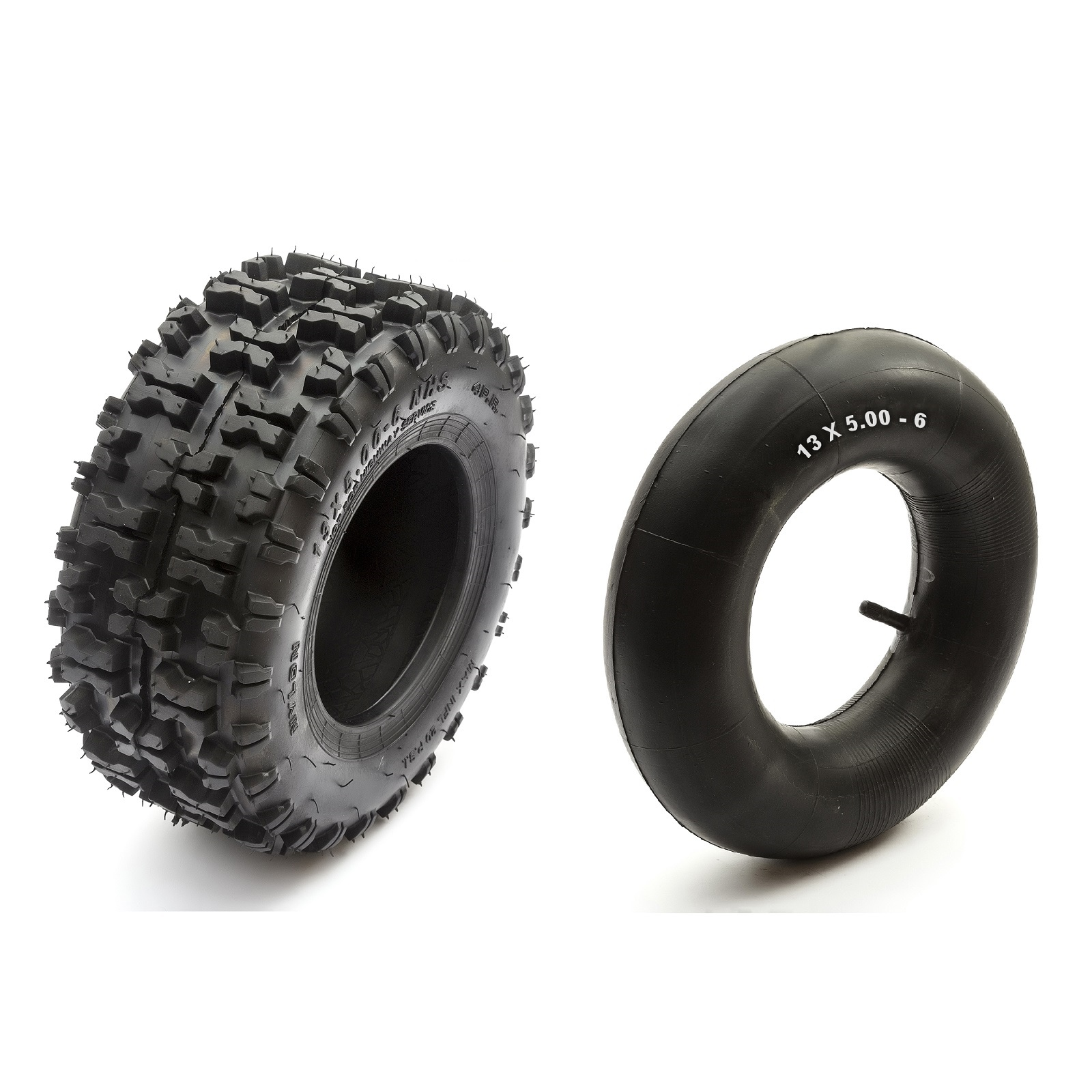 200cc 2 Gokart Knobbly Tyre 6 Inch 6 13x5.00-6 Rim Drifter Maxx Drift Kart 160cc