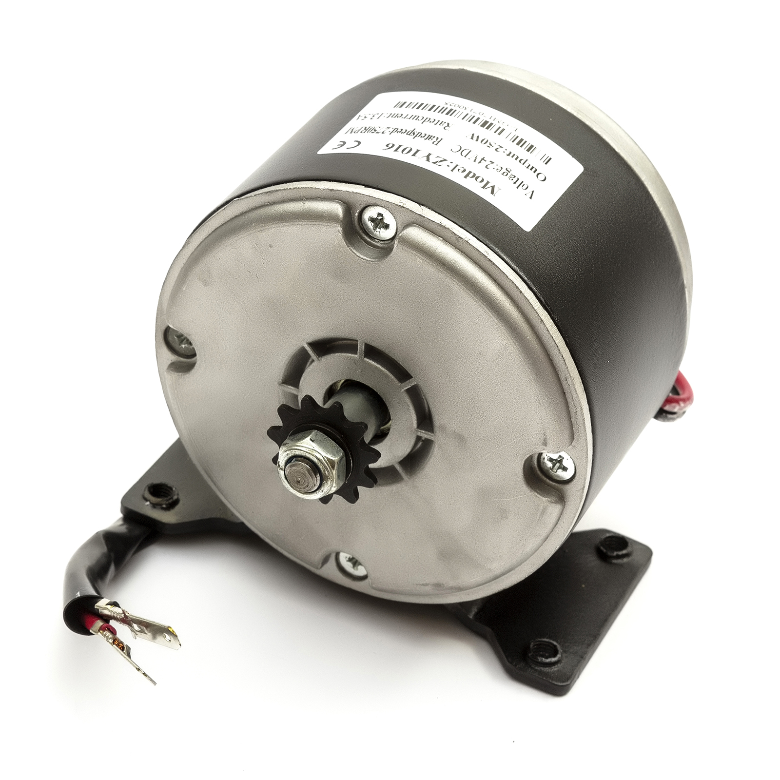 Electric Scooter Motor 24 Volt 250 Watt 11T 6mm Chain Sprocket 24v 250w ZY1016