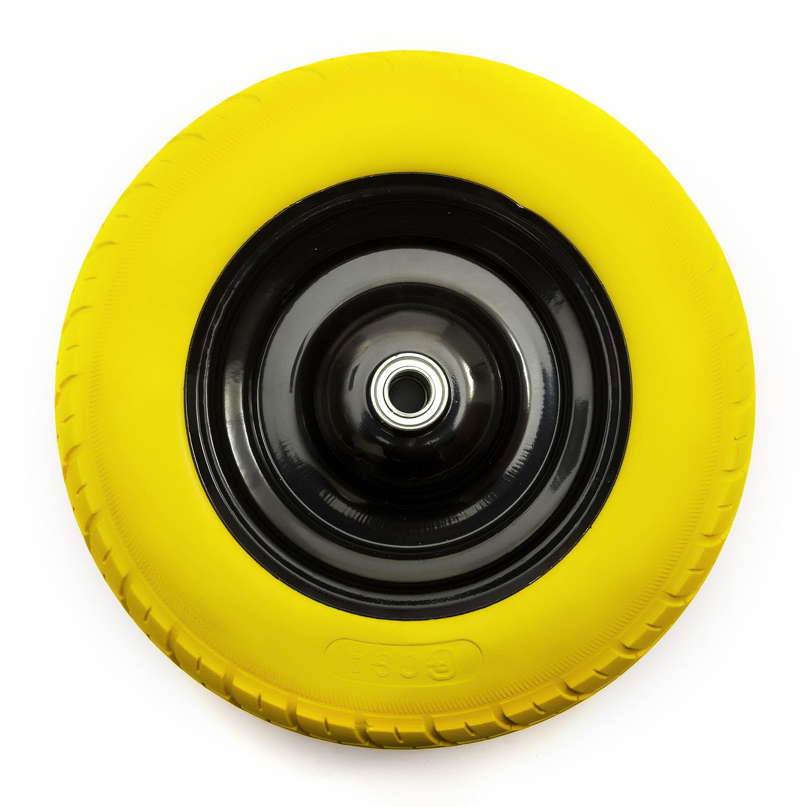 pu 14 39 39 m tal brouette roue et pneumatique punctureproof brouette chariot ebay. Black Bedroom Furniture Sets. Home Design Ideas