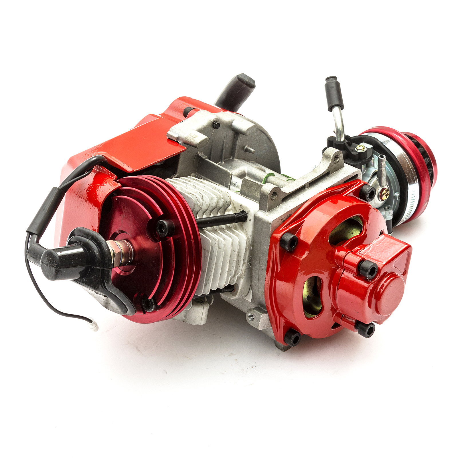 49cc 2 Stroke Mini Racing Engine Motor Air-Cooled for Dirt Bike Pocket Scooter