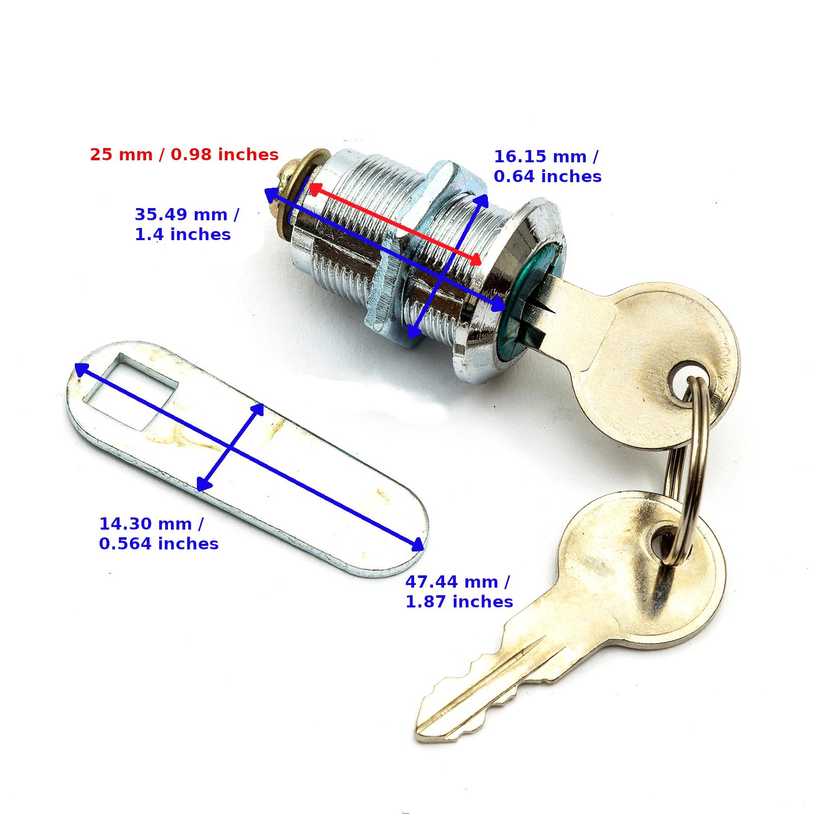 Casier Keys Cut to code mobilier de bureau touches-Replacement Keys Cut