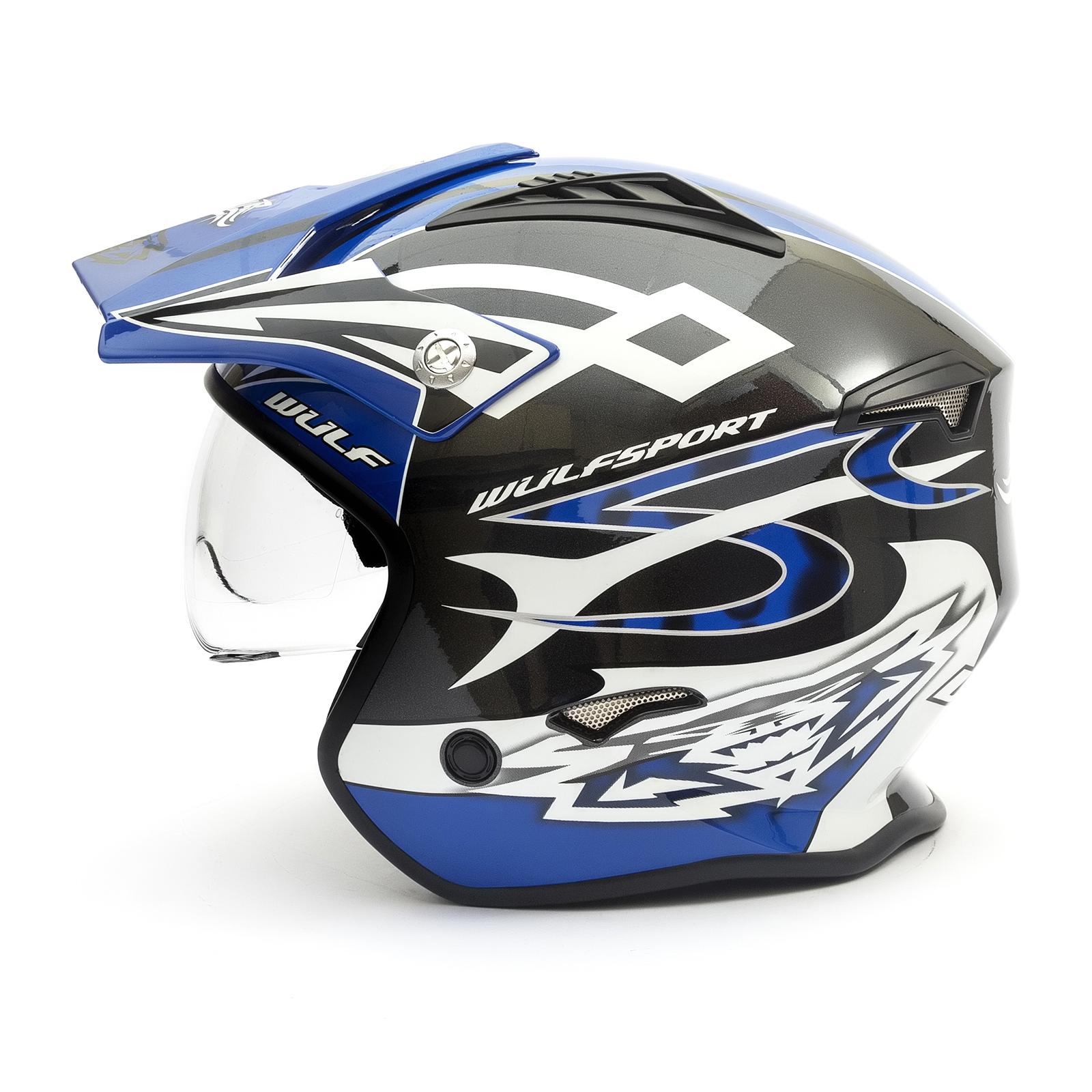 Wulf Vista Trials Helm