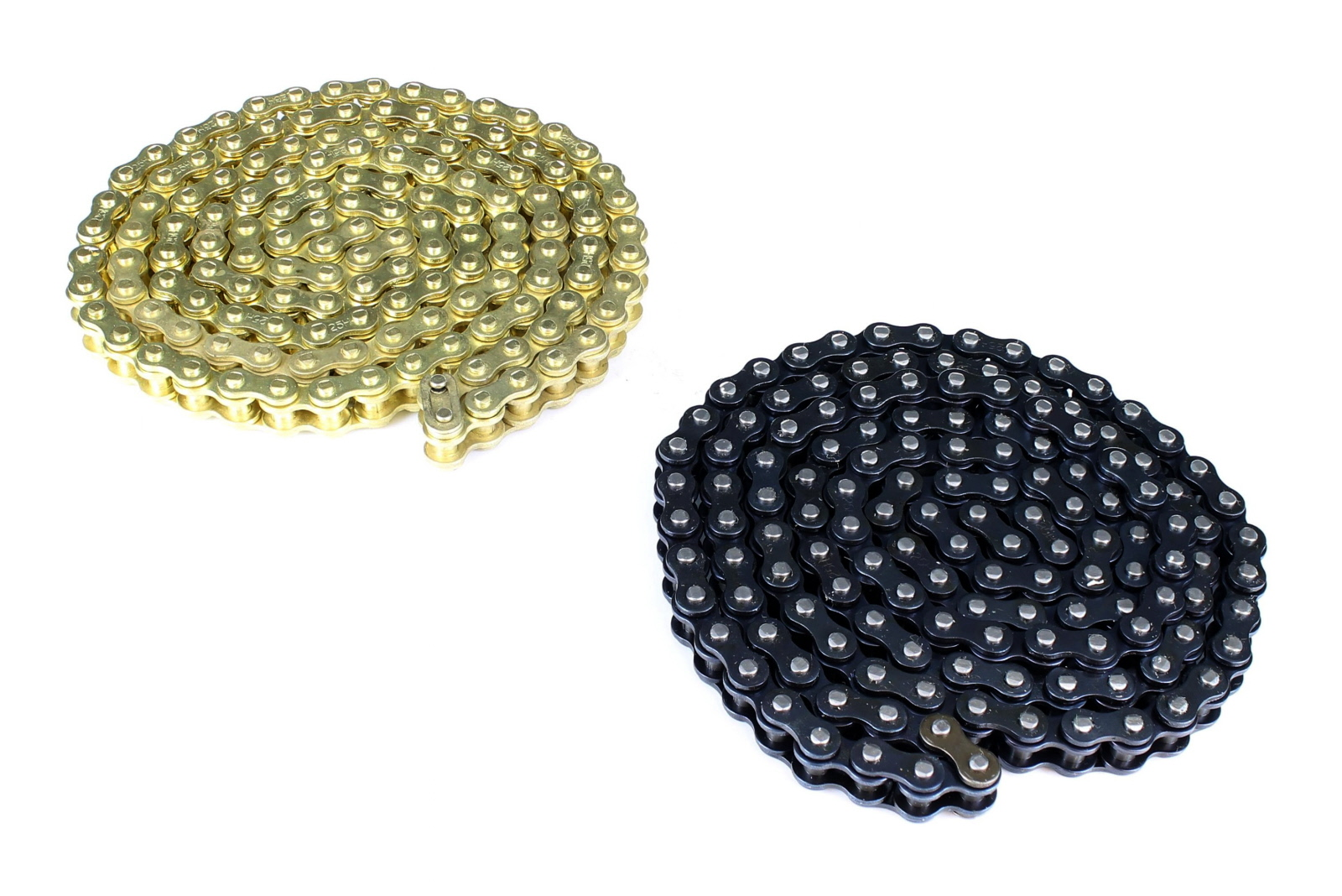 Drive Chain Mini Moto 6mm 25H 79 Links // 158 Pins, Gold