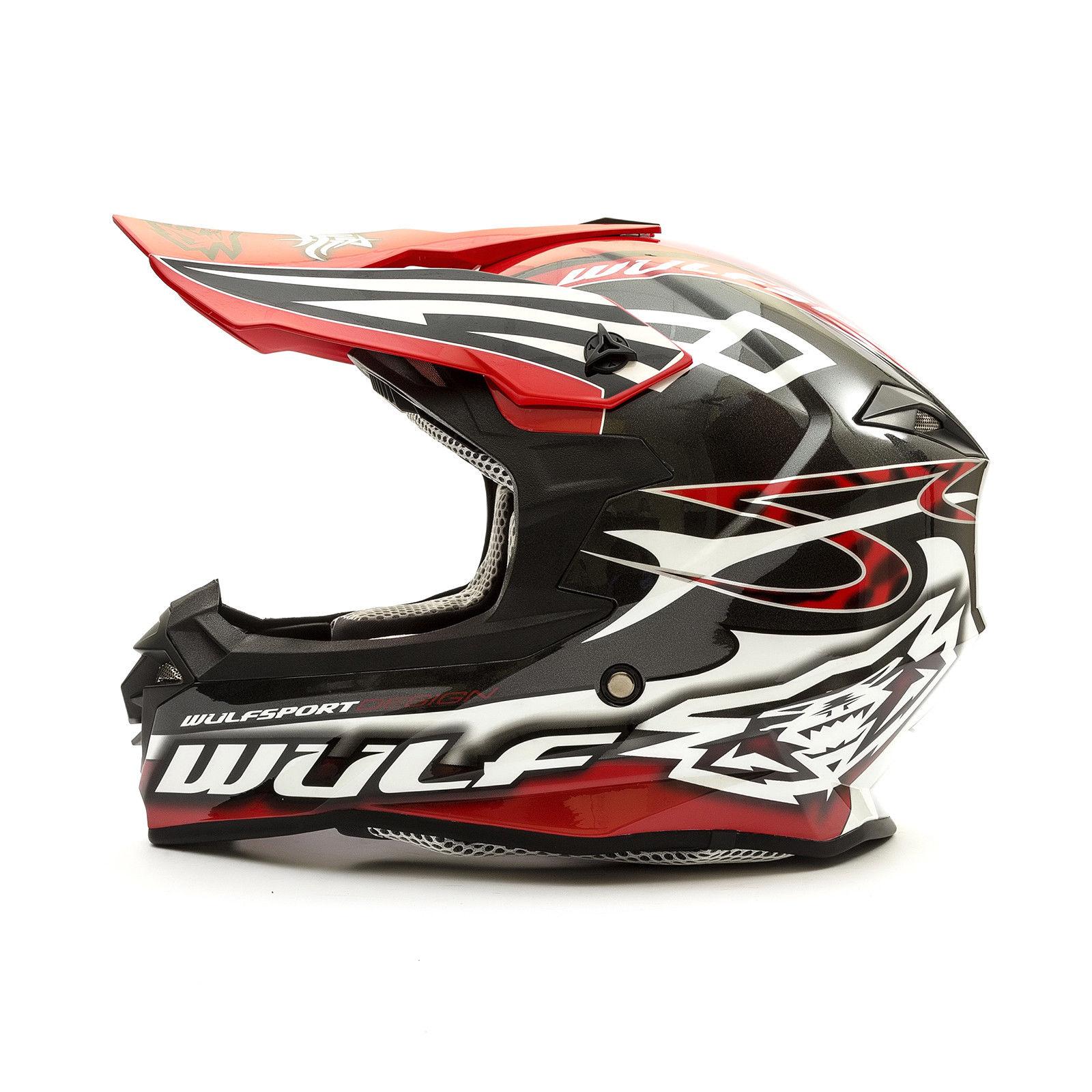 Wulfsport-Adult-Sceptre-Helmets-Motocross-Pitbike-Motorbike-Off-Road-Racing-ATV thumbnail 35