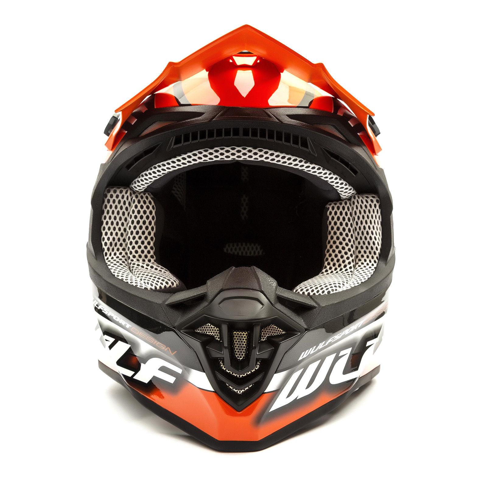 Wulfsport-Adult-Sceptre-Helmets-Motocross-Pitbike-Motorbike-Off-Road-Racing-ATV thumbnail 86