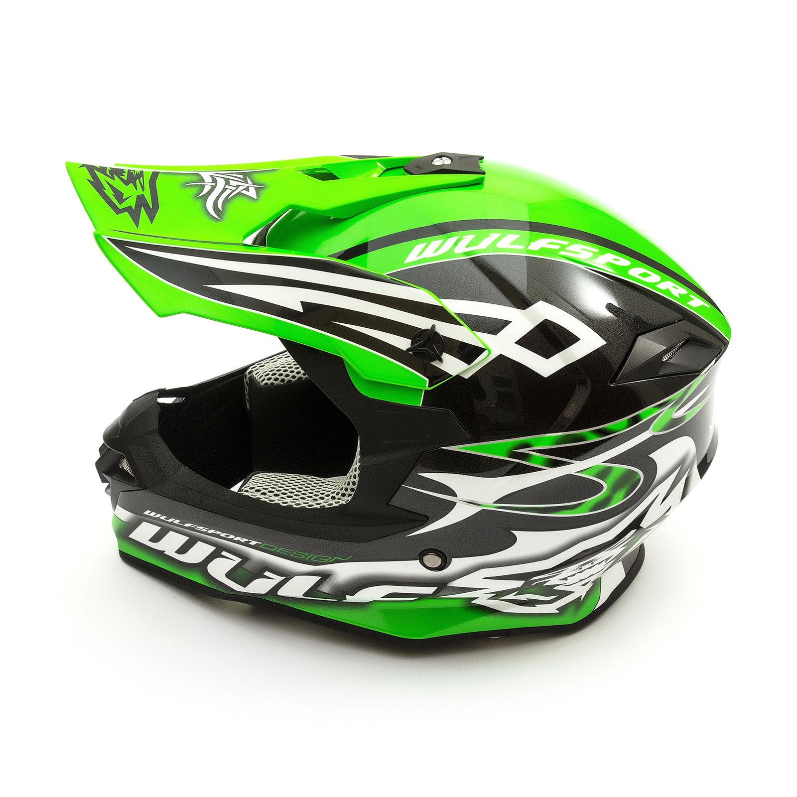Wulfsport-Adult-Sceptre-Helmets-Motocross-Pitbike-Motorbike-Off-Road-Racing-ATV thumbnail 64