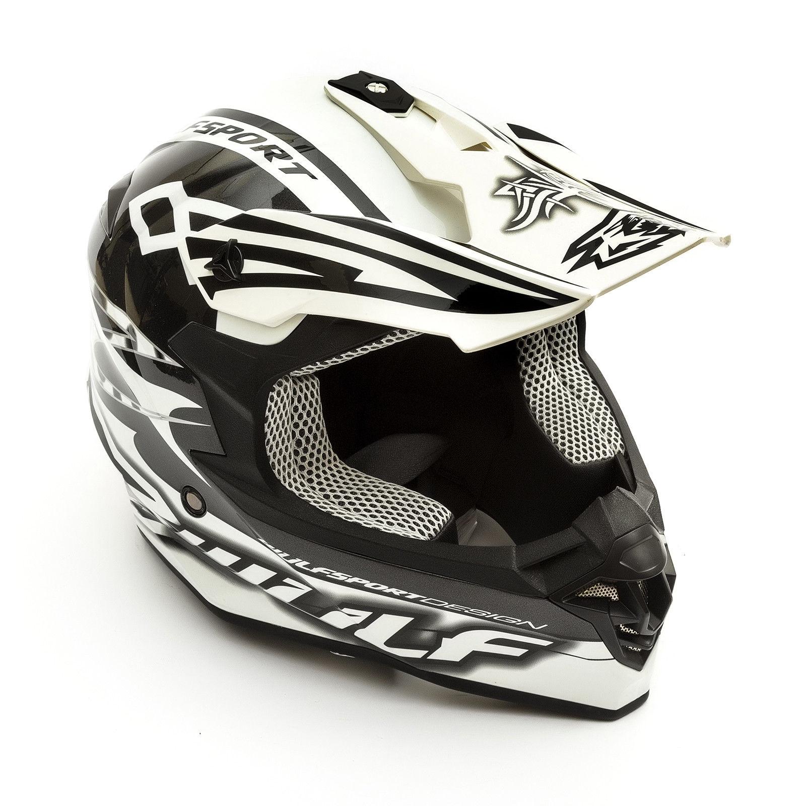 Wulfsport-Adult-Sceptre-Helmets-Motocross-Pitbike-Motorbike-Off-Road-Racing-ATV thumbnail 57