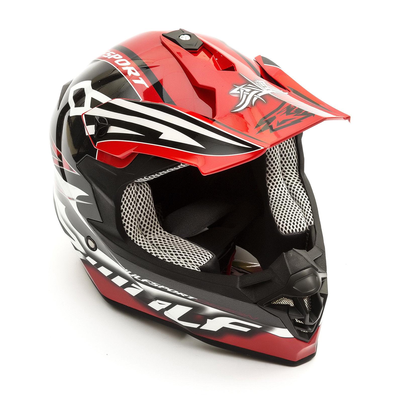 Wulfsport-Adult-Sceptre-Helmets-Motocross-Pitbike-Motorbike-Off-Road-Racing-ATV thumbnail 33