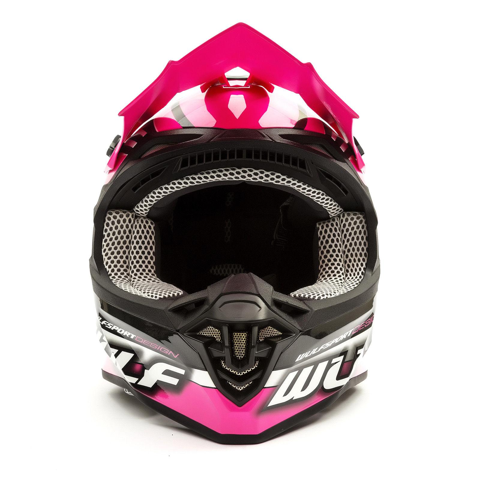 Wulfsport-Adult-Sceptre-Helmets-Motocross-Pitbike-Motorbike-Off-Road-Racing-ATV thumbnail 50